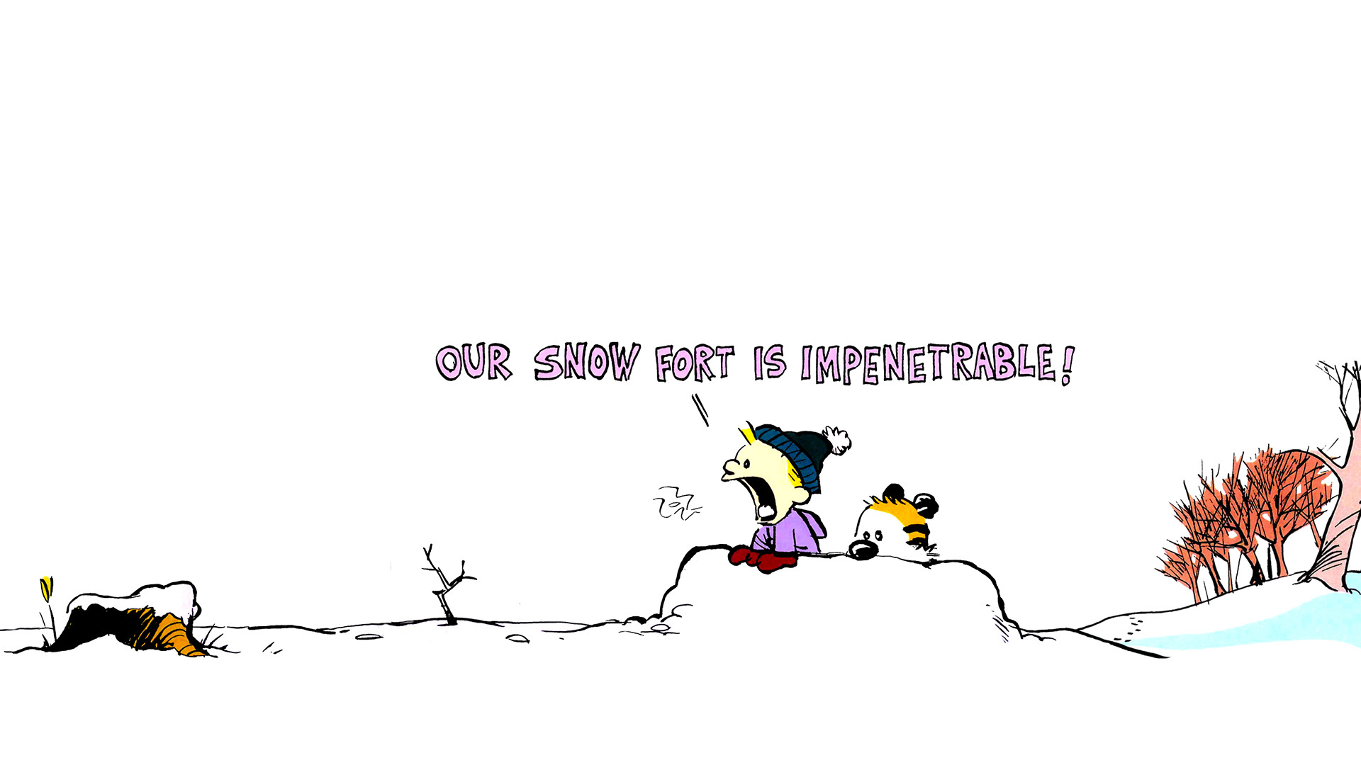 1920x1080 Backgrounds High Resolution: calvin and hobbes pic - calvin and hobbes  category