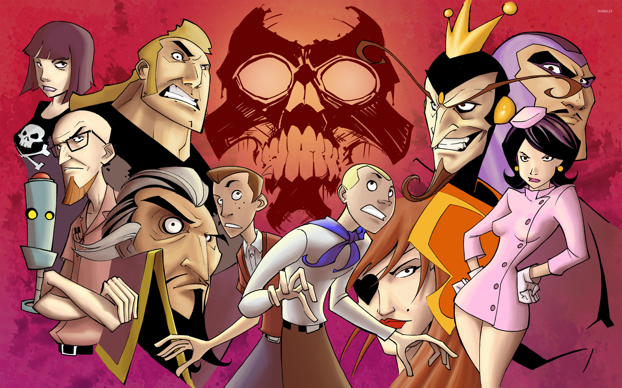 2560x1600 The Venture Bros. wallpaper