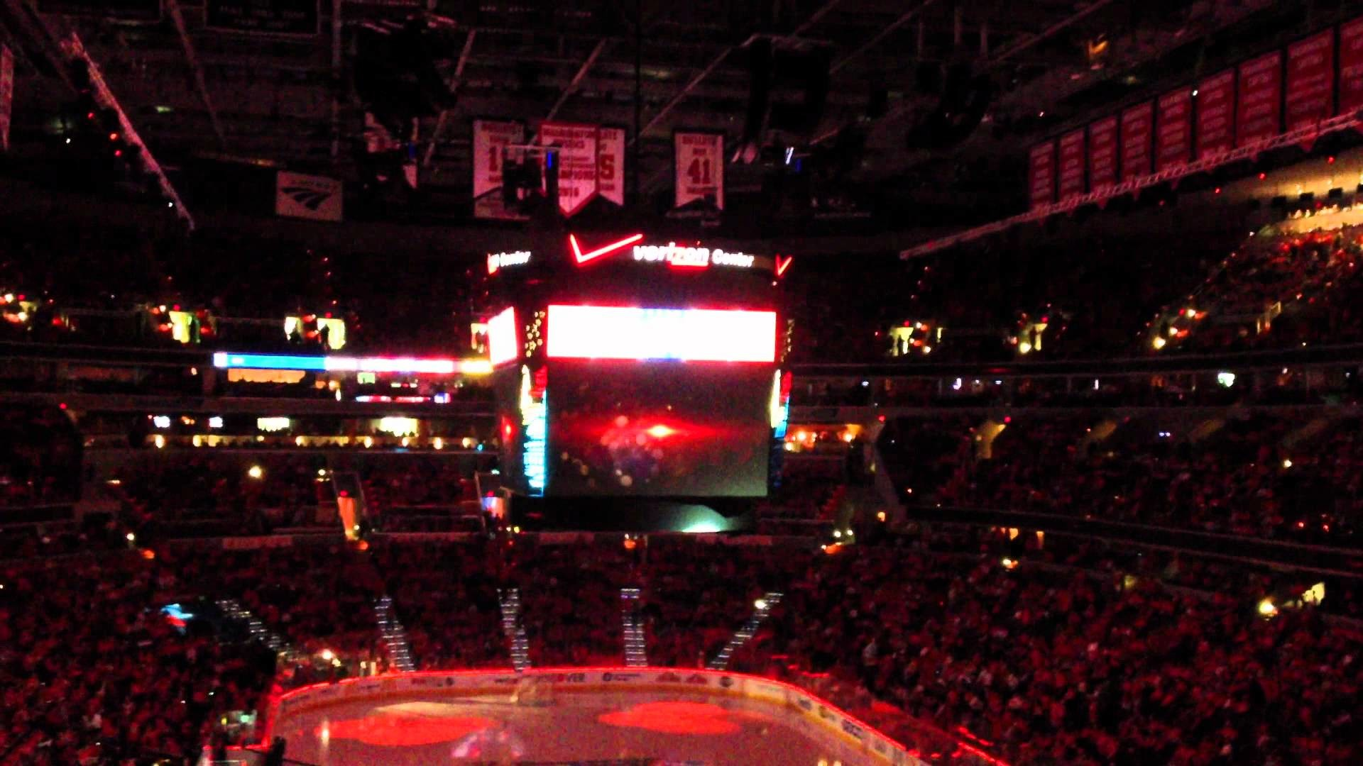 1920x1080 Washington Capitals inGame Playoff Intro Video 2012