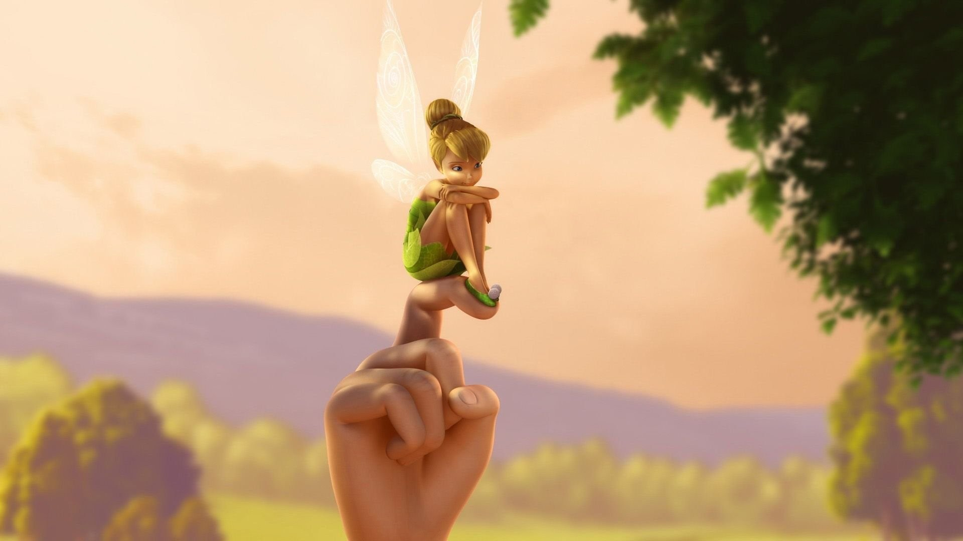 1920x1080 L-R Periwinkle and Tinker Bell Images Tinkerbell HD Download.