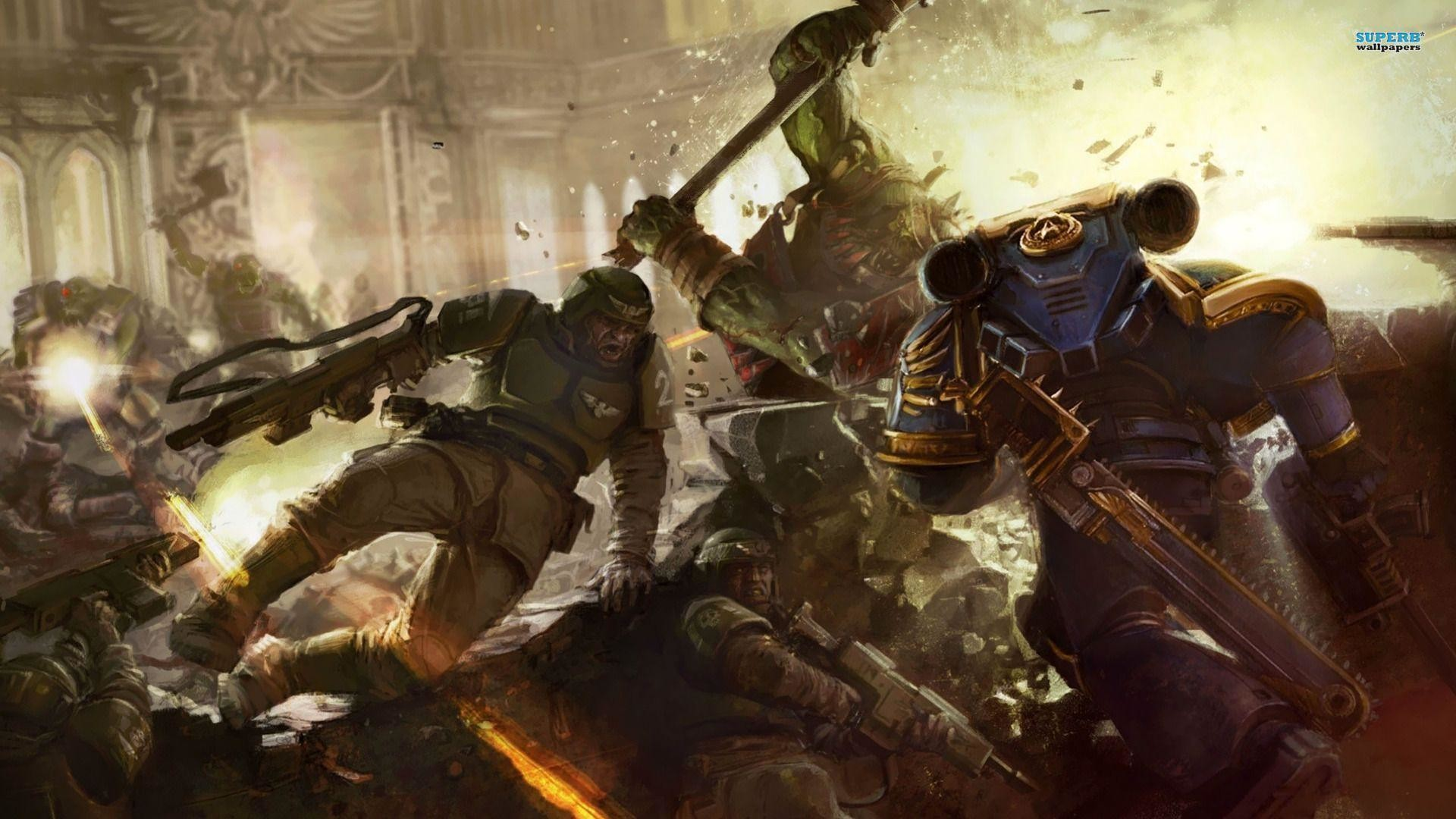 1920x1080 Warhammer 40,000: Space Marine wallpaper - Game wallpapers - #