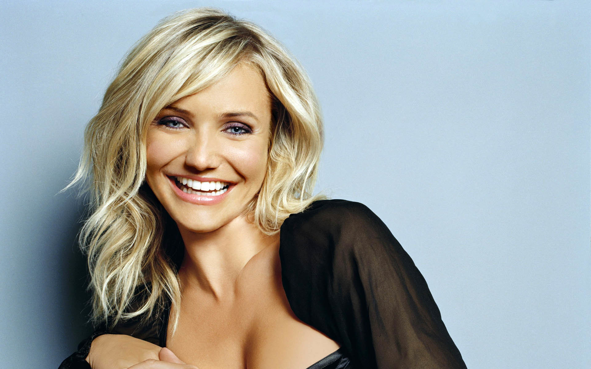 1920x1200 Cameron Diaz Beautiful Smile  wallpaper