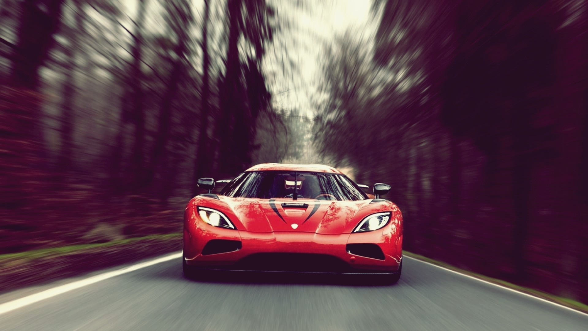 1920x1080 car, Motion Blur, Koenigsegg Agera R, Koenigsegg, Red Cars Wallpapers HD /  Desktop and Mobile Backgrounds