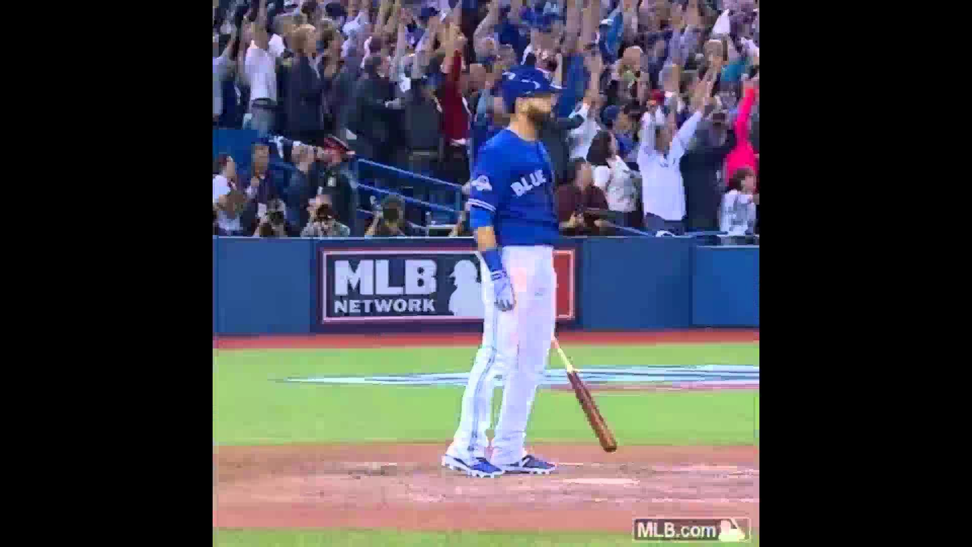 1920x1080 José Bautista Looka Da Flicka Da Wrist Bat Flip Game 5 Blue Jays Rangers  MLB Toronto Texas - YouTube