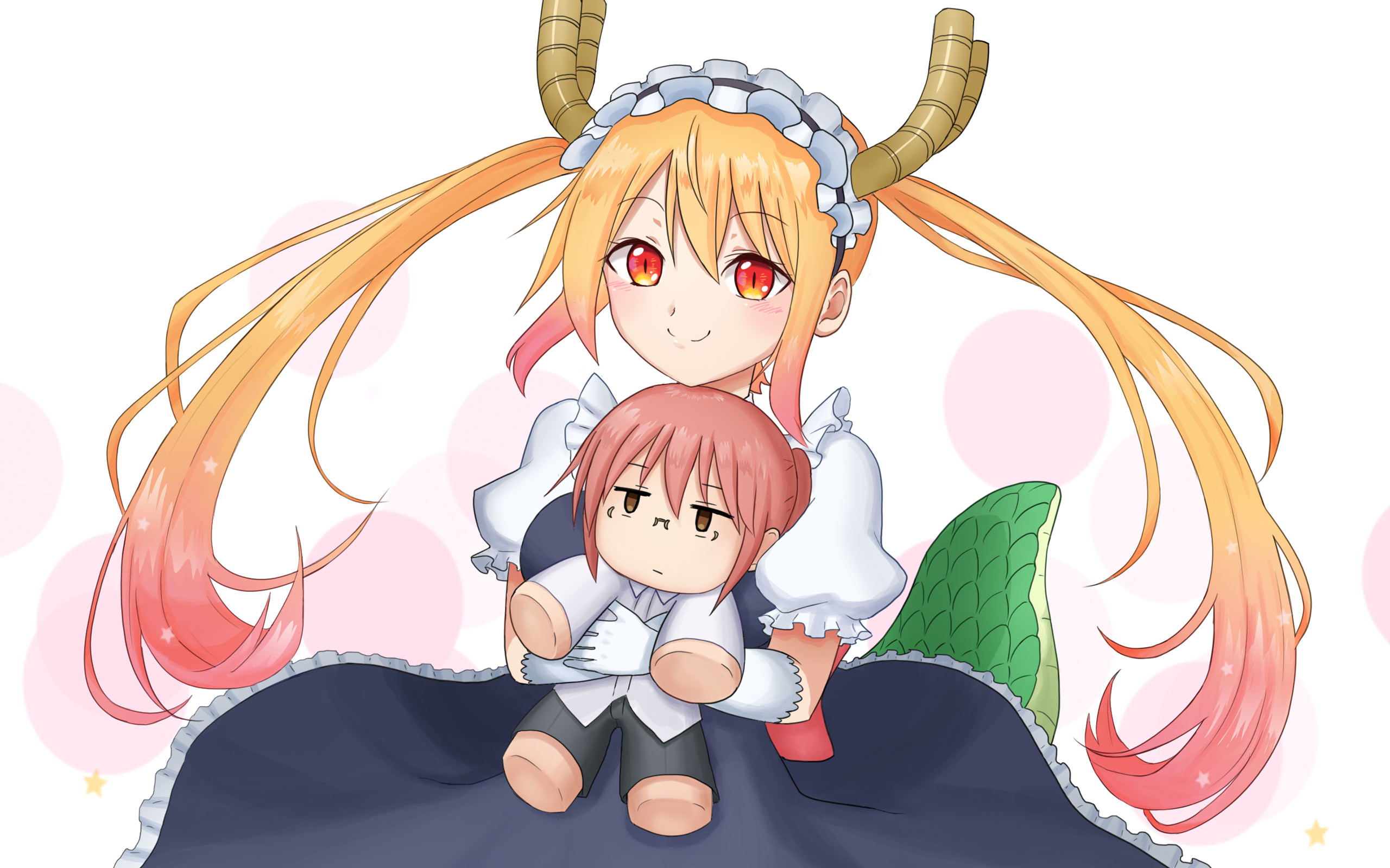 2560x1600 Anime - Miss Kobayashi's Dragon Maid Tohru (Miss Kobayashi's Dragon Maid)  Wallpaper