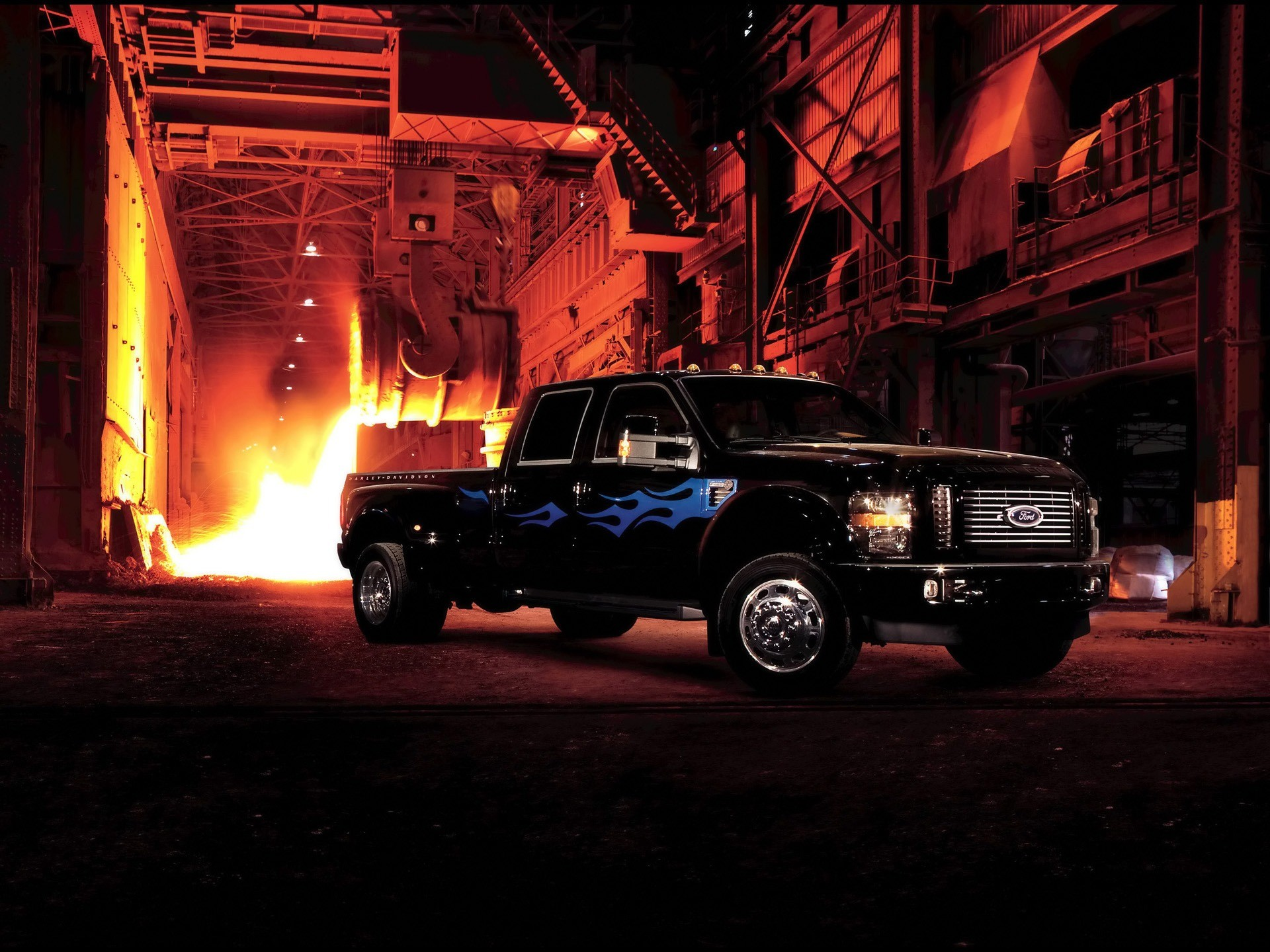 1920x1440 Ford F450 Super Duty Harley Davidson Wallpaper Ford Cars