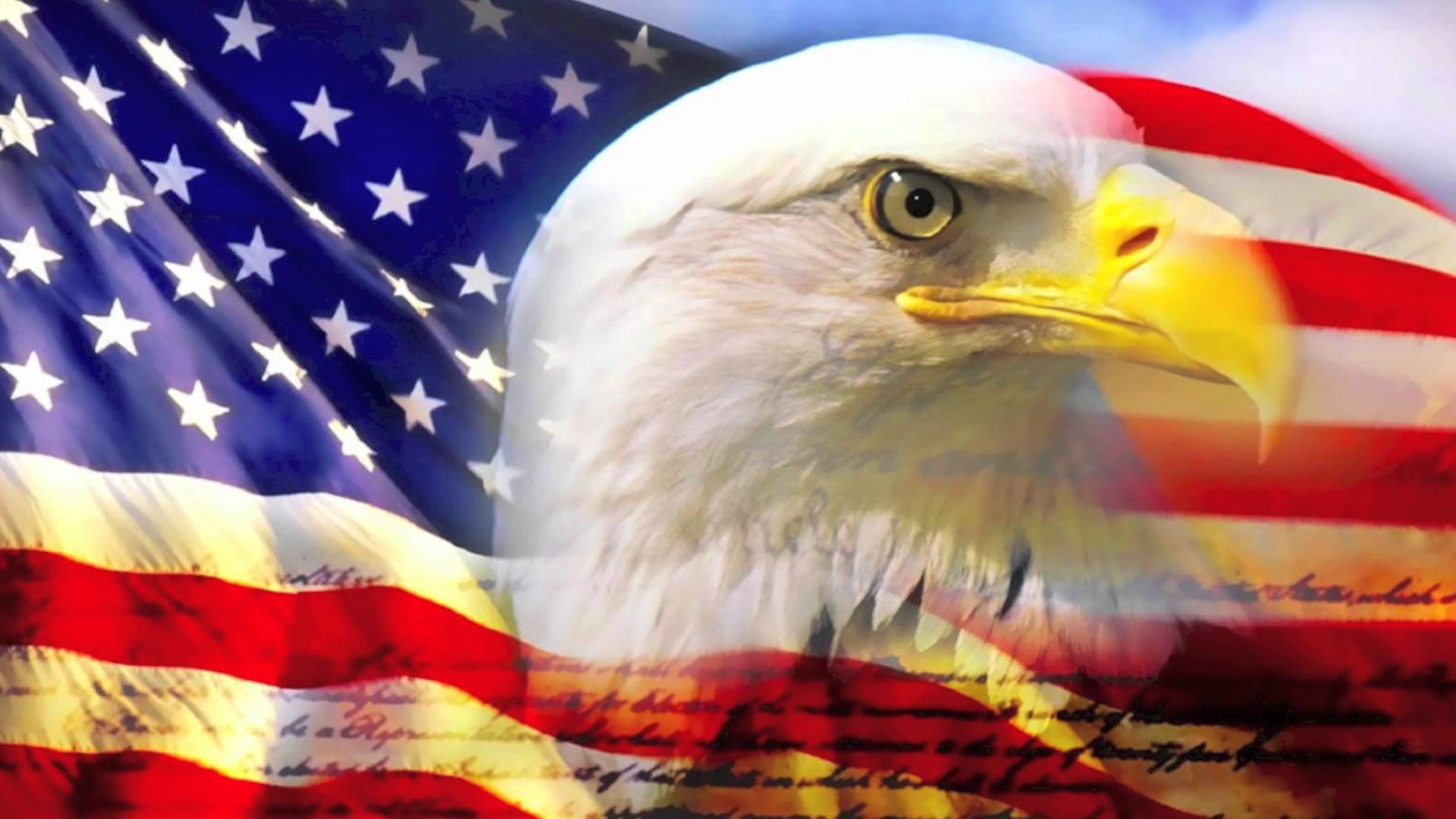 1920x1080 American Flag Background