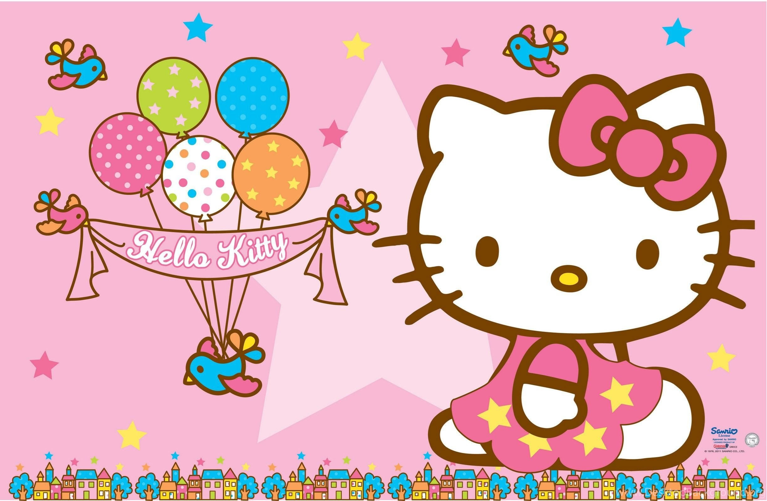 Hello Kitty Desktop Backgrounds 66 Images