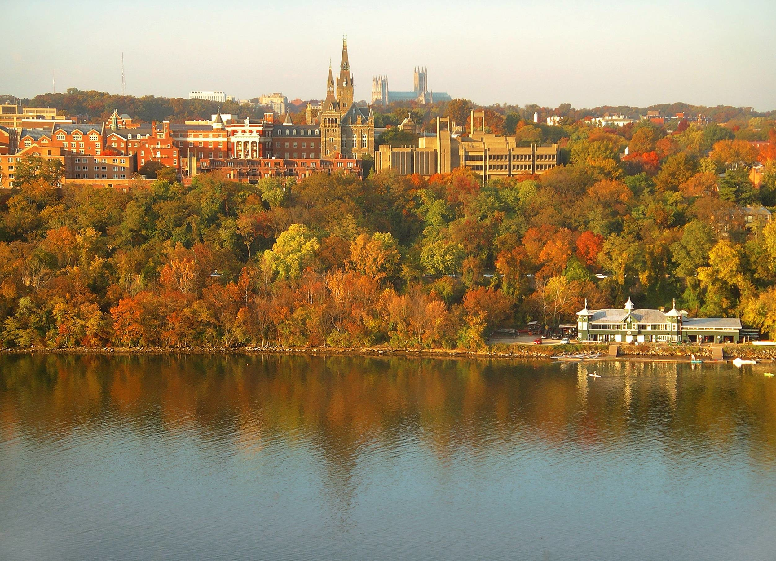 2504x1810 High Definition Georgetown University, by Latif Flanaghan