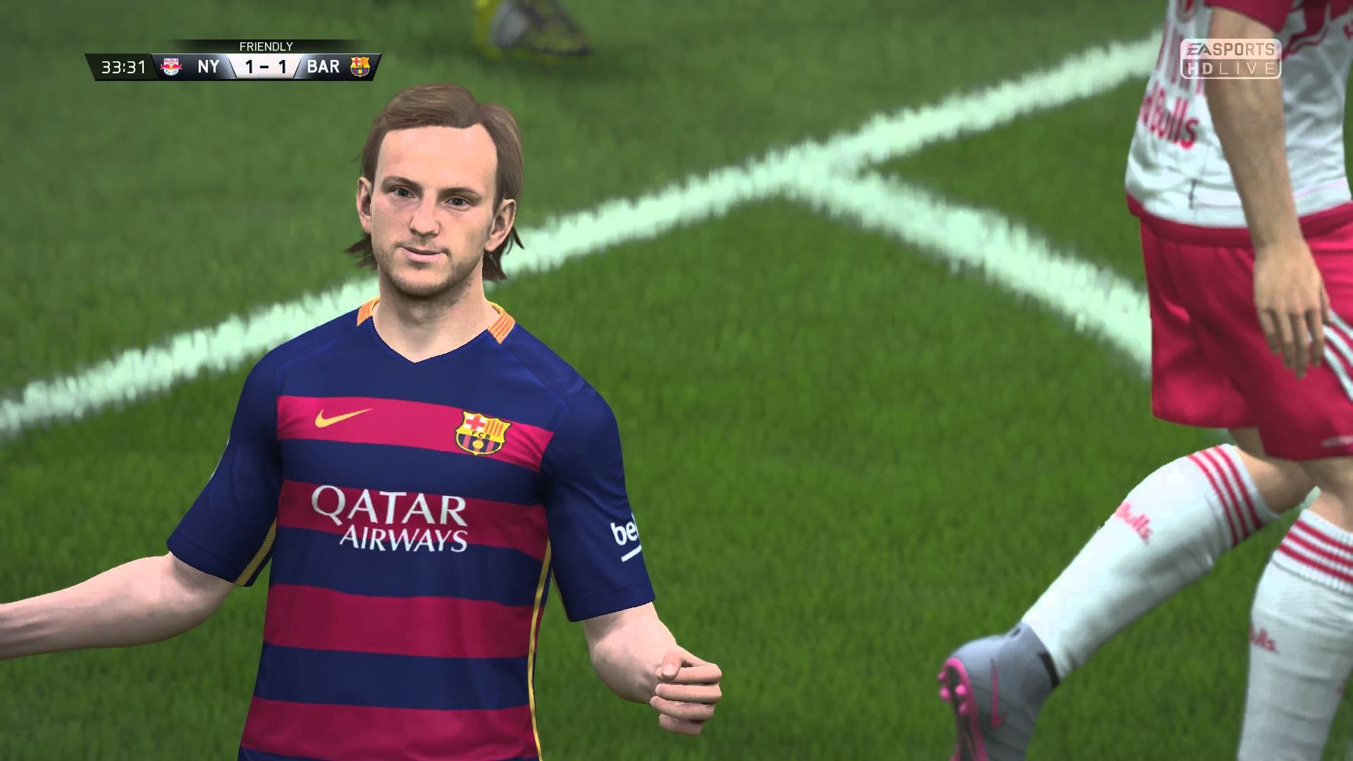 1920x1080 FIFA 16 - New York Red Bulls vs. FC Barcelona Gameplay [1080p / 60 FPS]