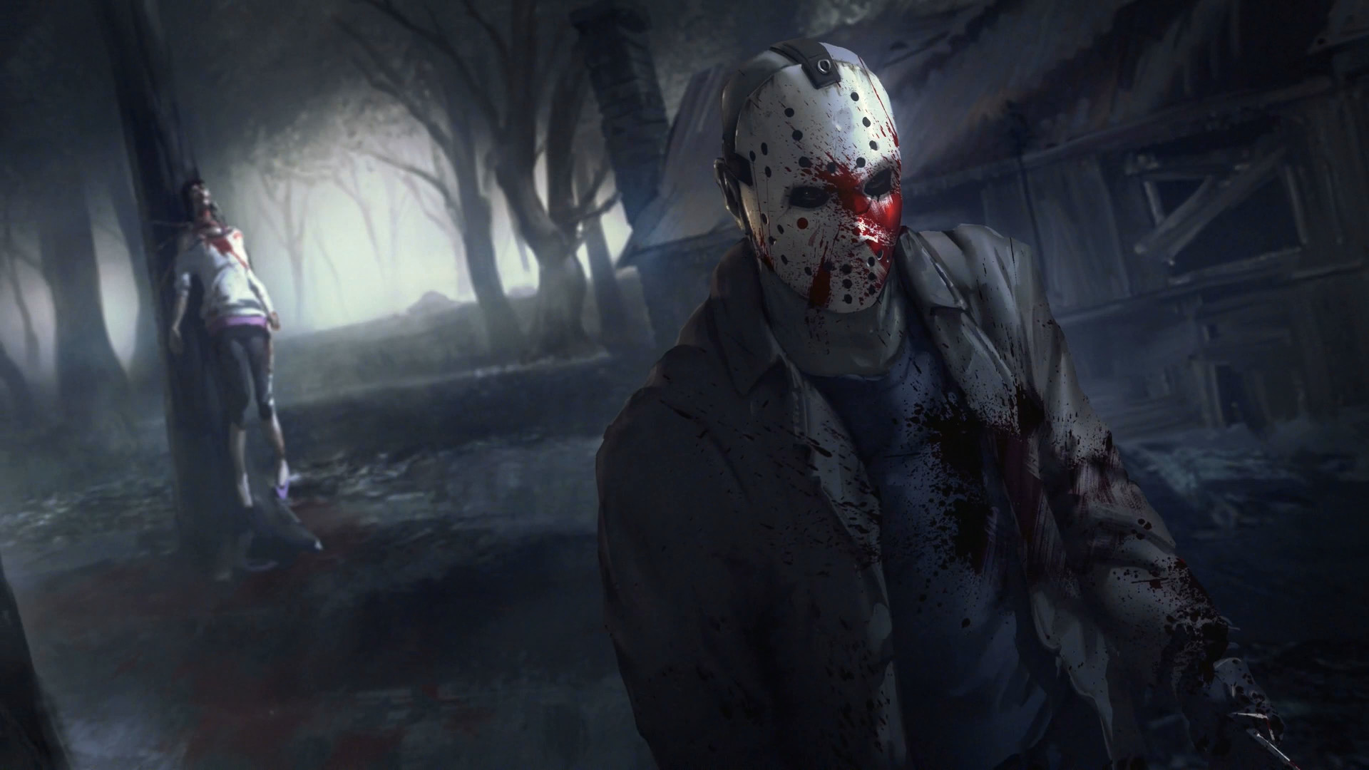 1920x1080 Video Game - Friday the 13th: The Game Wallpaper