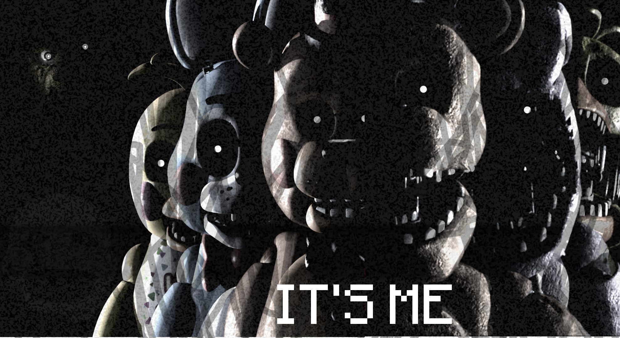 1980x1080 My Own FNAF Wallpaper. (You can download it if you'd like) ...