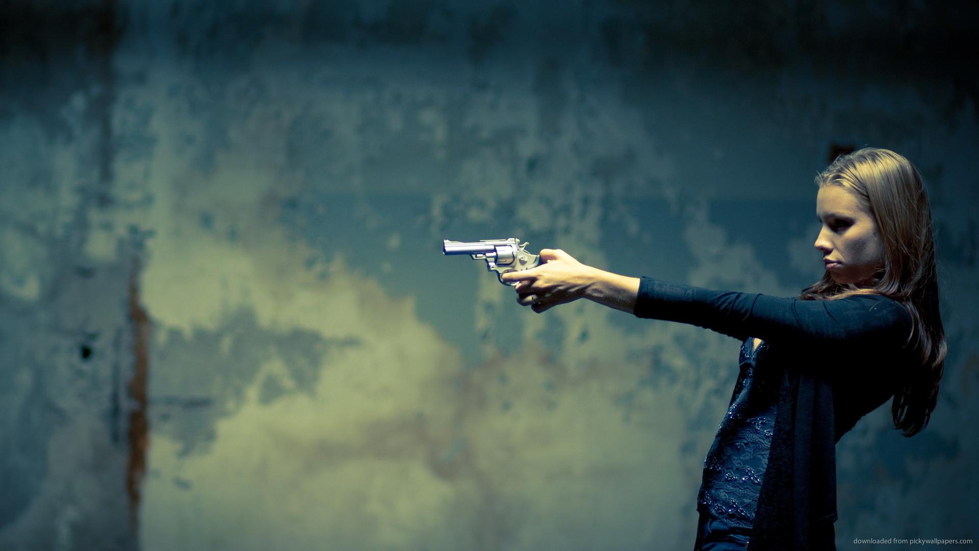 Girl with Gun Wallpaper (55+ images)