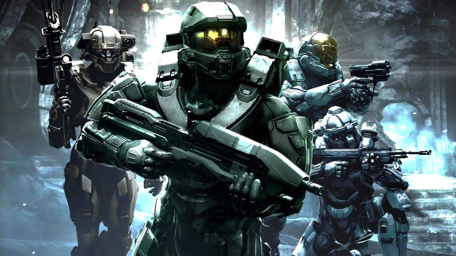 1920x1080 Halo 5 Master Chief HD Desktop Background Wallpapers 14153 .