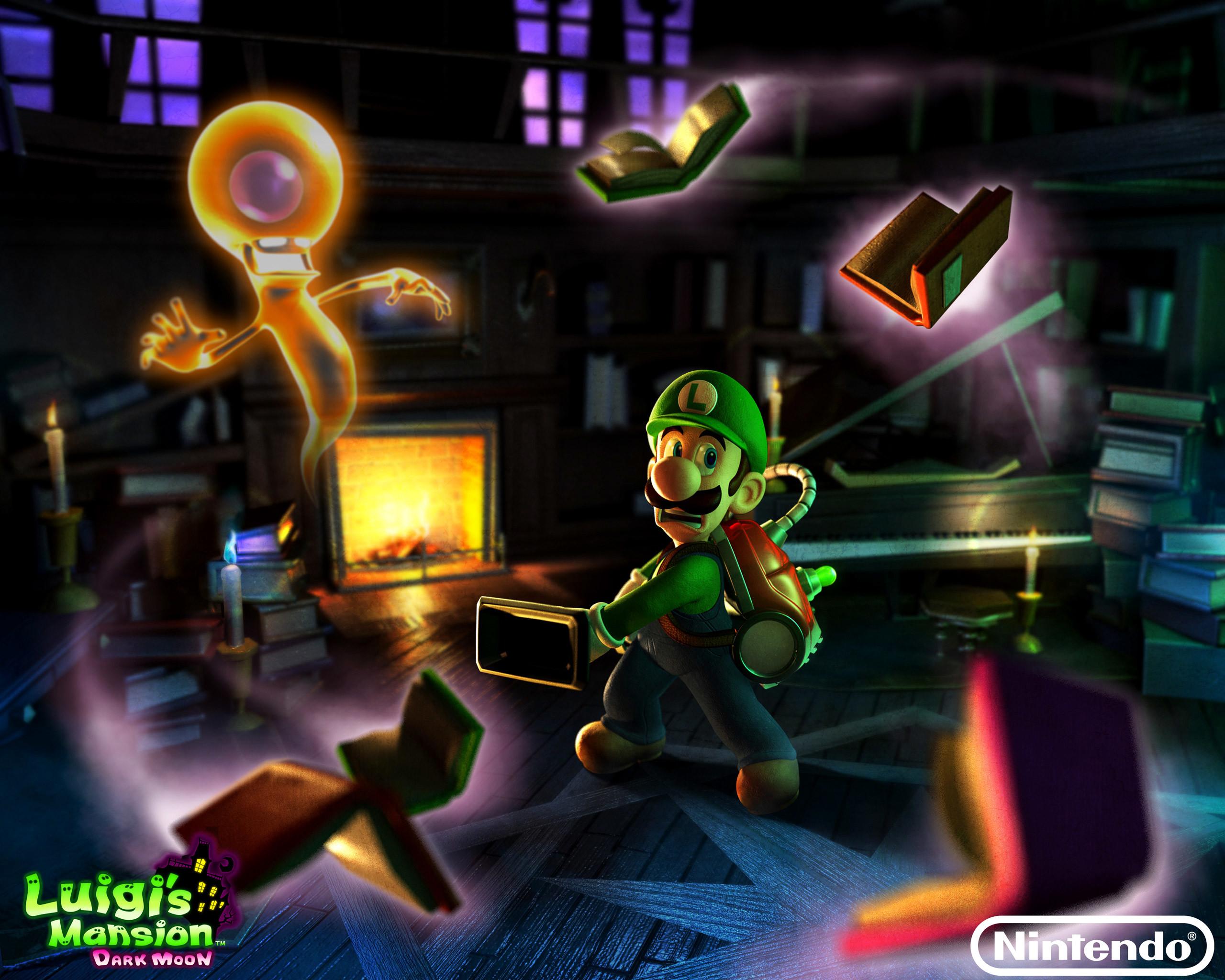 Luigis Mansion Dark Moon Wallpaper 57 Images