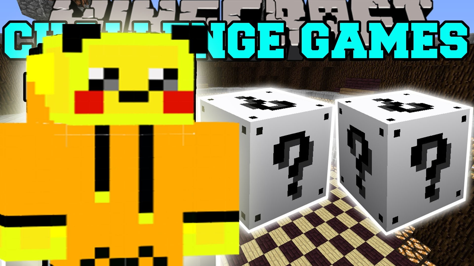 1920x1080 PAT And JEN PopularMMOs Minecraft POKEMON MAN CHALLENGE GAMES Lucky Block  Mod Modded Mini Game