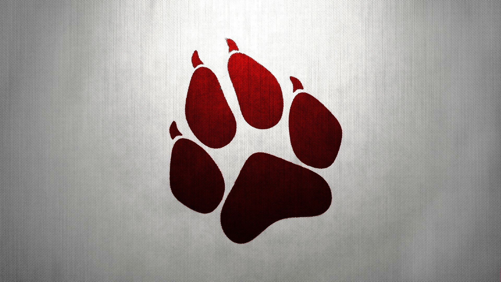 1920x1080 Red Wolf Paw