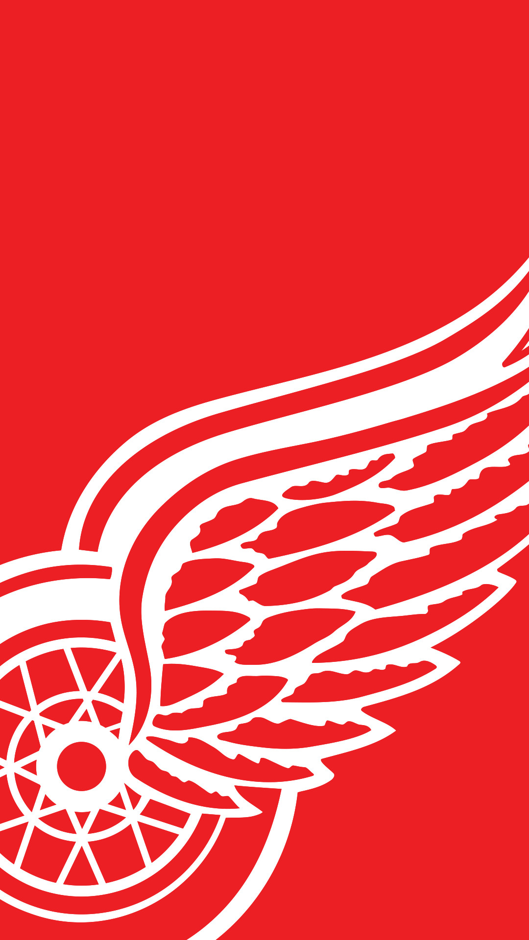 1080x1920 Red Wings Mobile Wallpaper - WallpaperSafari Download Detroit ...