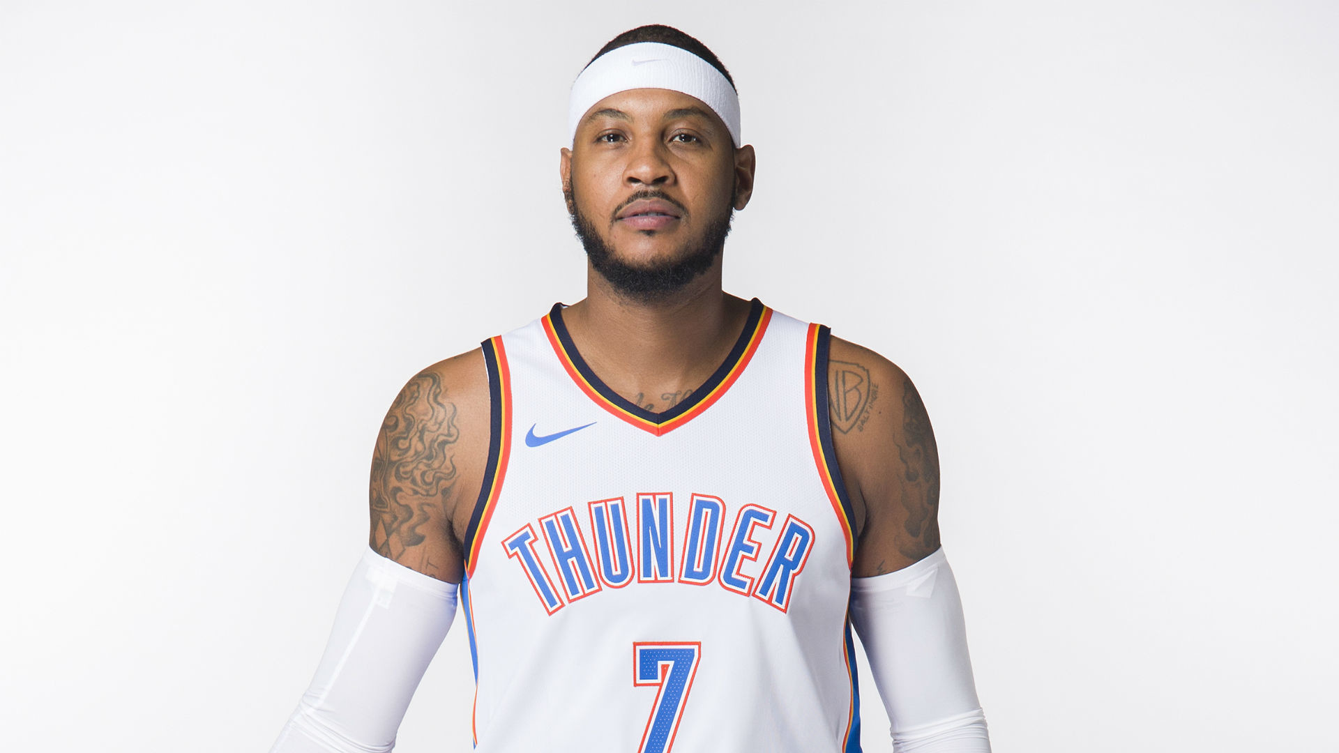 1920x1080  Carmelo Anthony will start at power forward for Thunder | NBA |  Sporting News