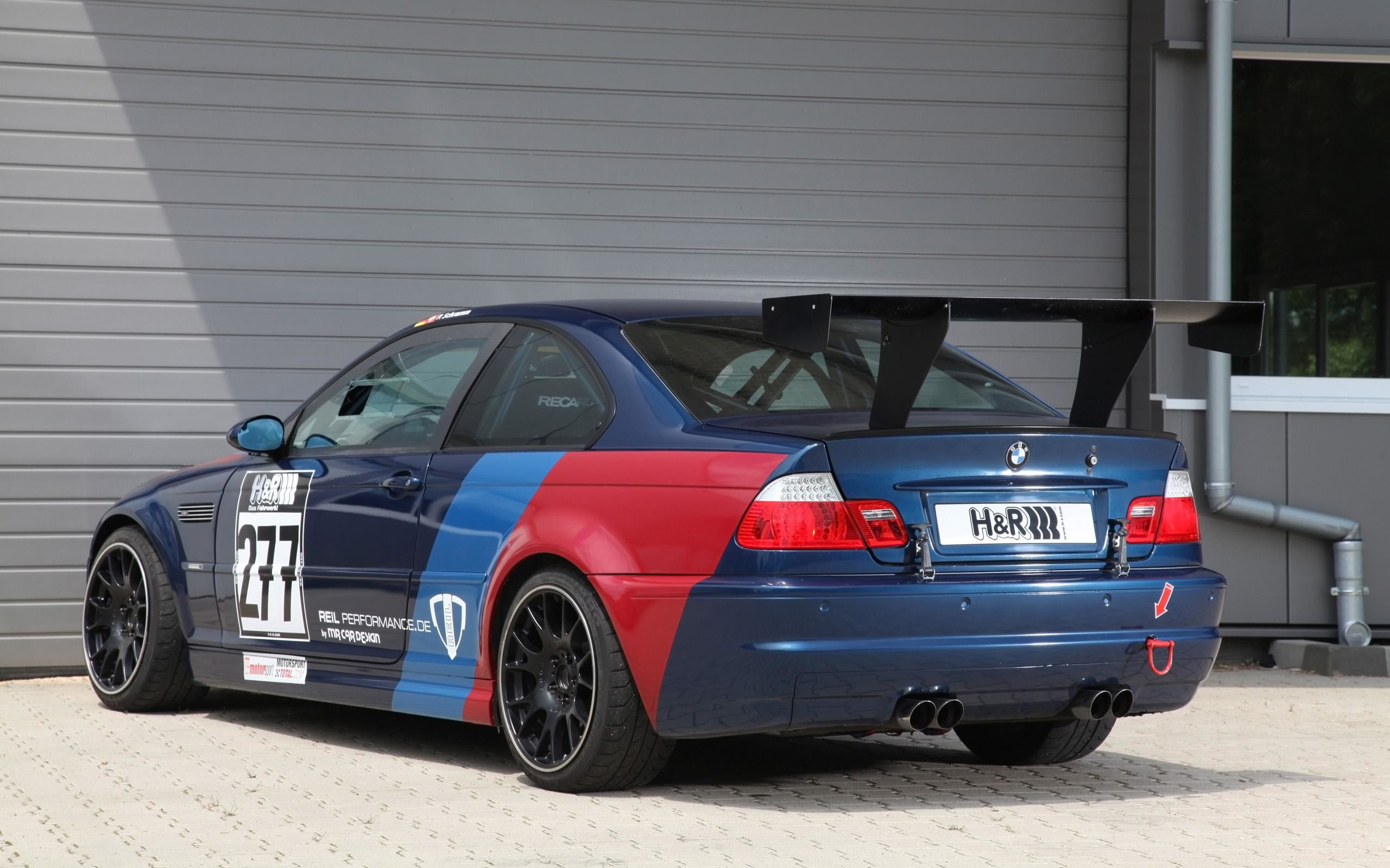 2560x1600  MR Car Design BMW E46 M3 CSL - Static - 2 -  - Wallpaper