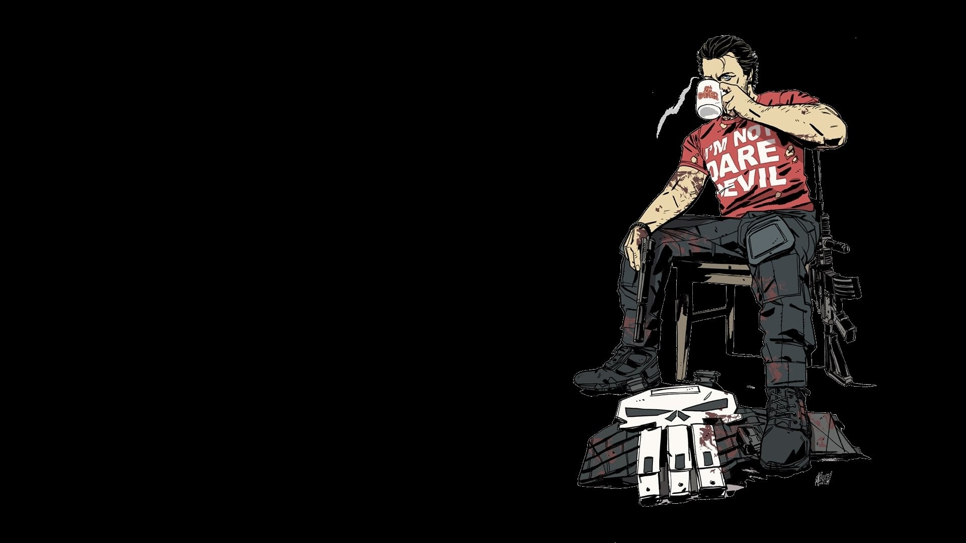 1920x1080 Comics - Punisher Wallpaper
