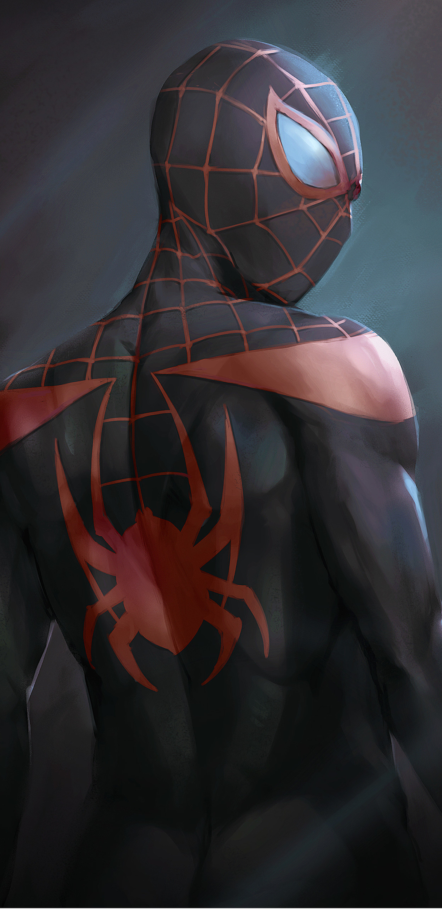 1440x2960 miles-morales-in-spider-man-into-the-spider-