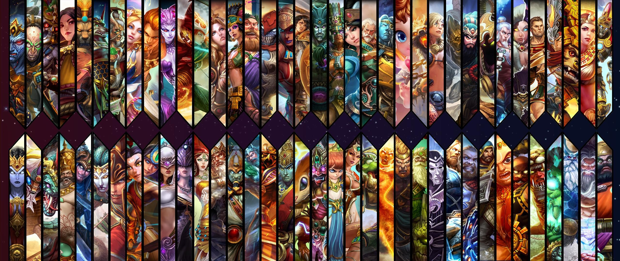 2560x1080 Smite God Wallpaper []