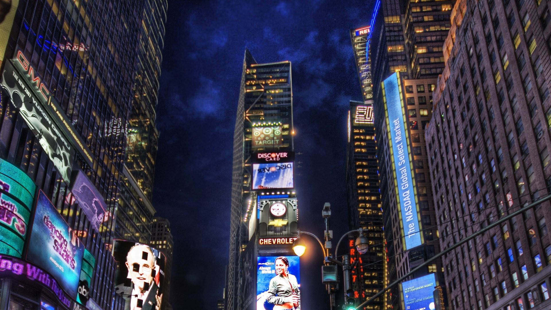 1920x1080 New York Times Square