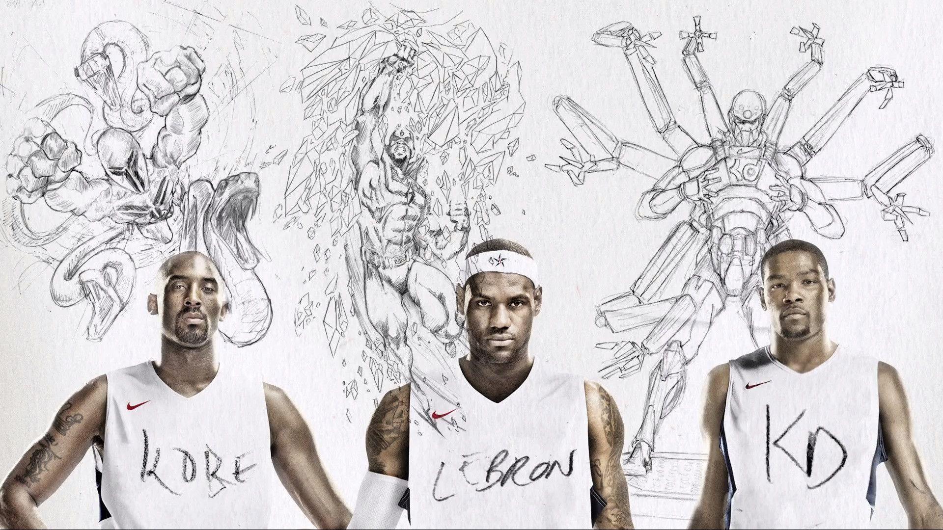 Nba X Nike Wallpaper: Nike Basketball Wallpapers (60+ Images