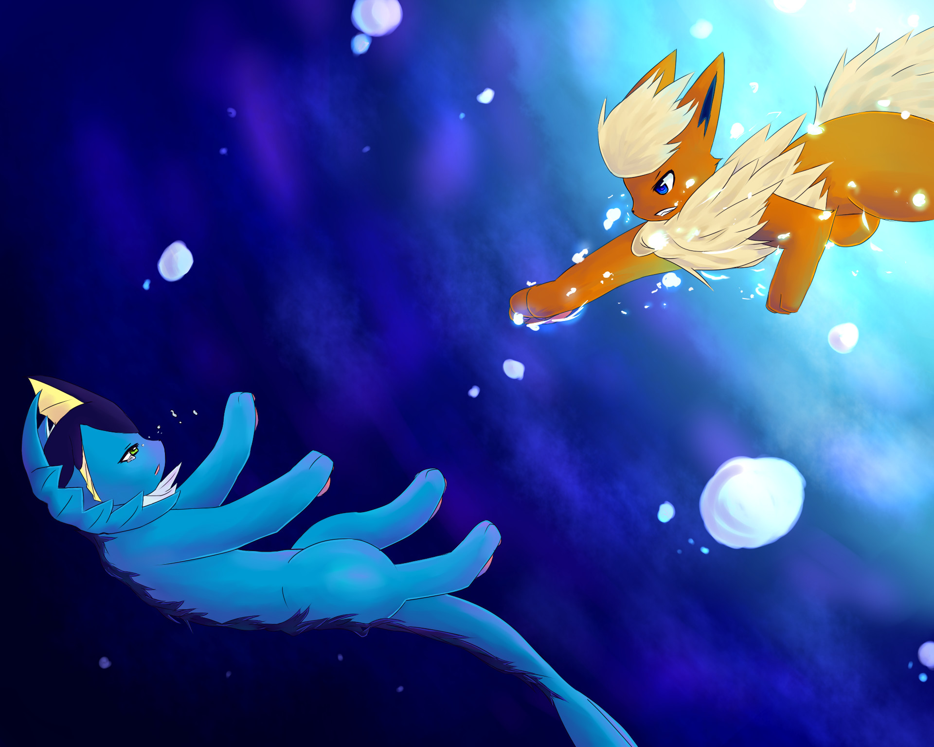 Umbreon Wallpaper (79+ images) |Vaporeon And Glaceon Wallpaper