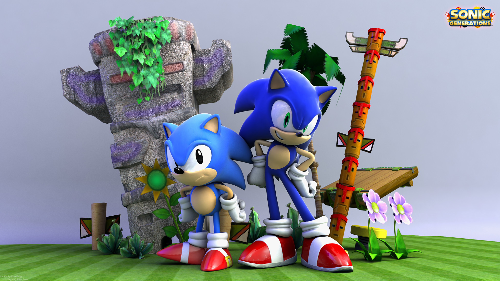 2048x1152 Super Sonic Generations Wallpaper - HD Wallpapers