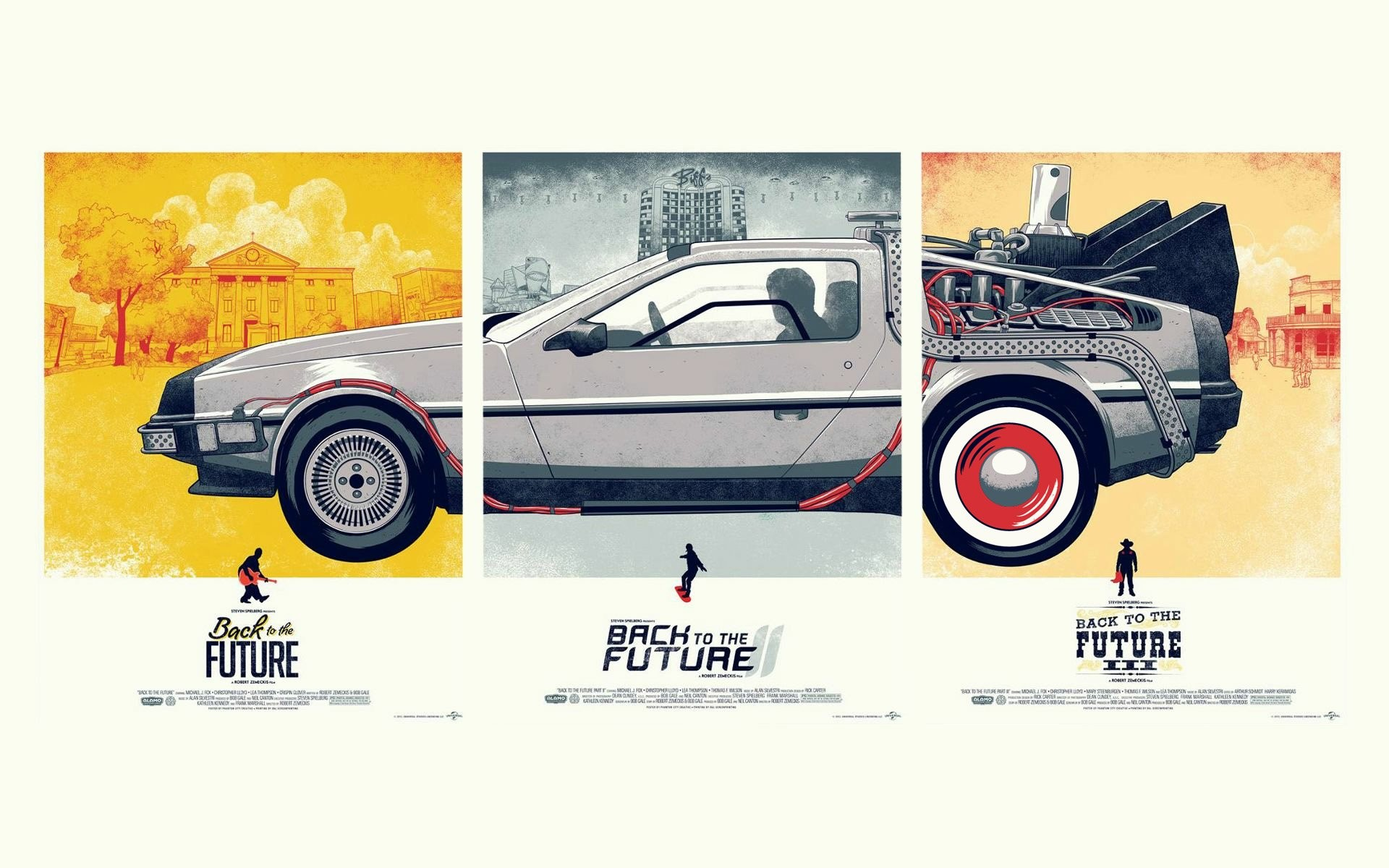 1920x1200 Back To The Future DeLorean Machine The Others · HD Wallpaper | Background ID