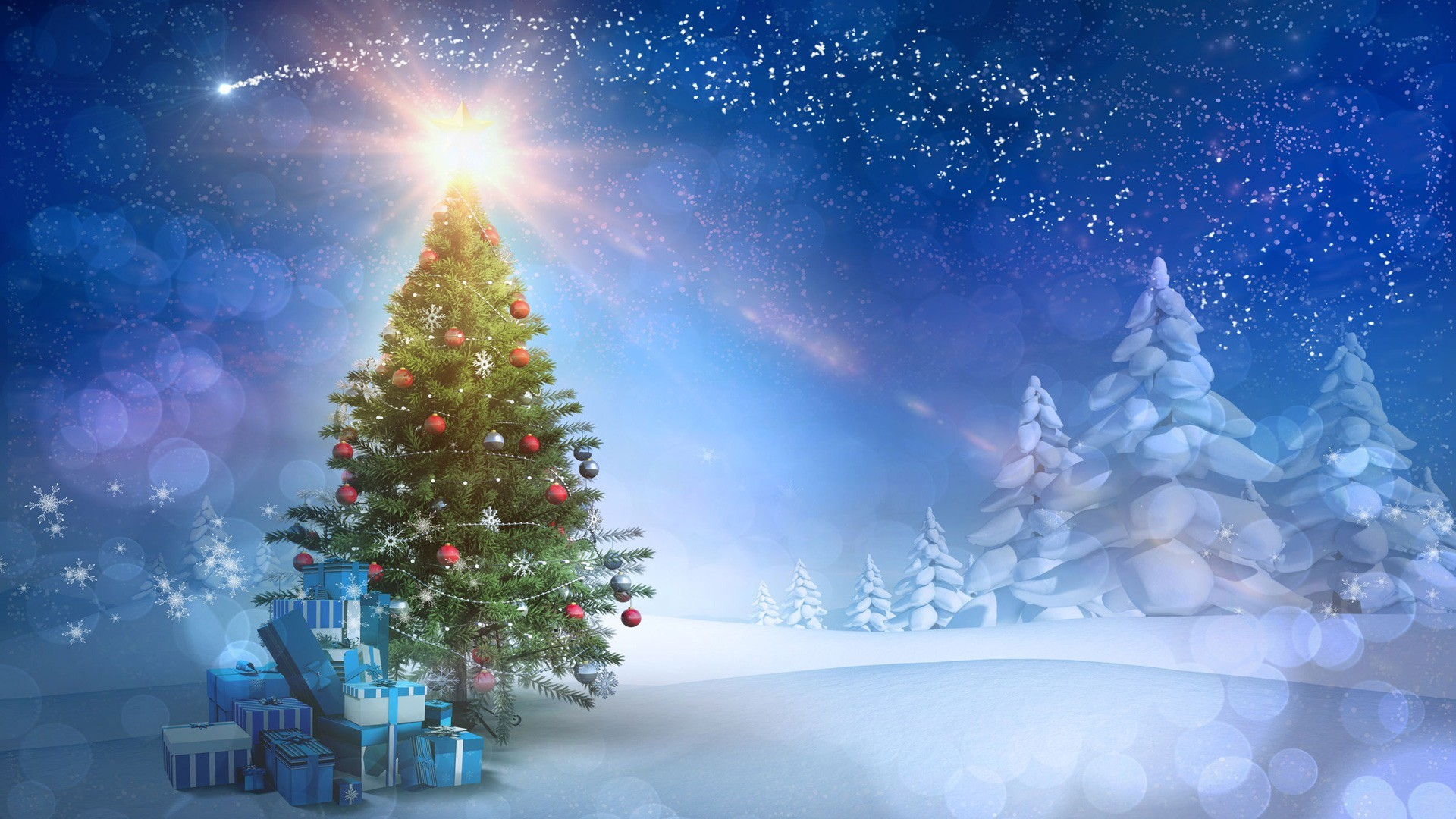 1920x1080 Christmas tree hd wallpaper