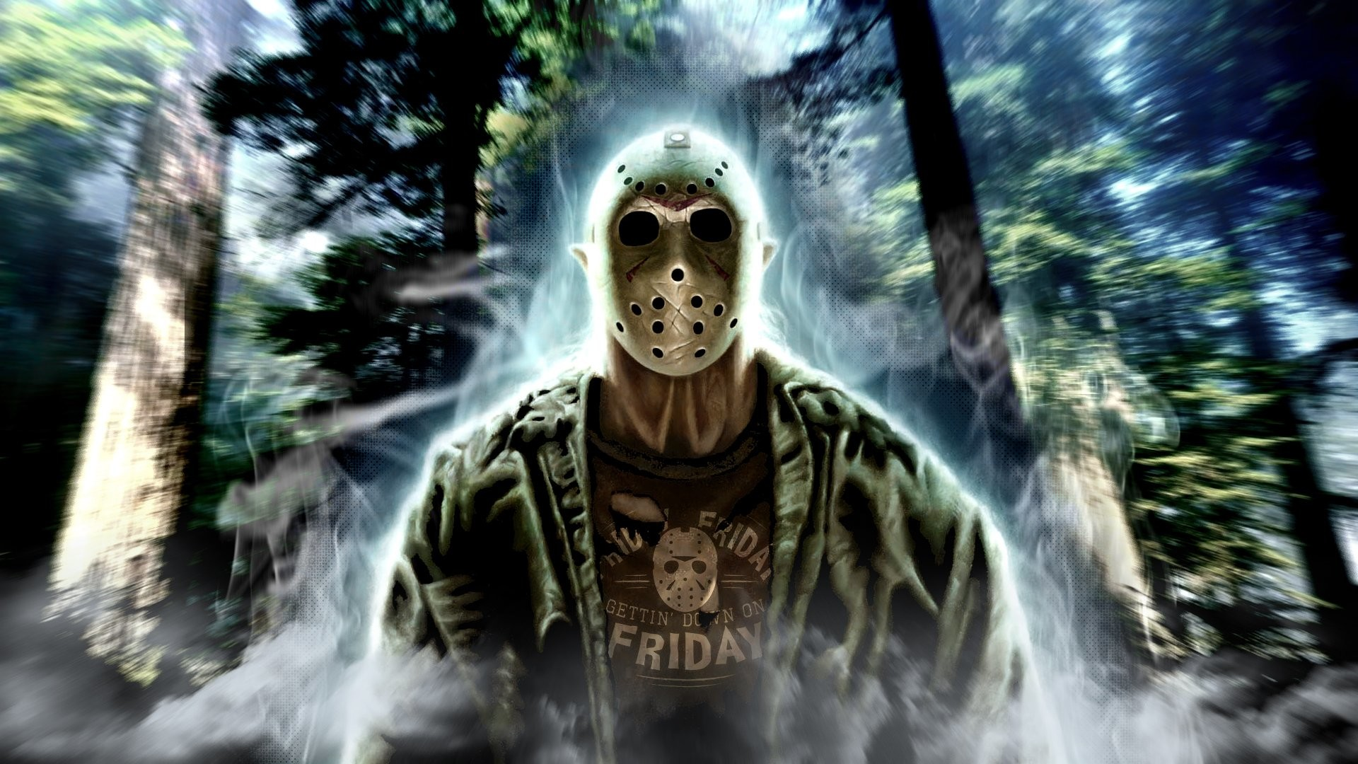 1920x1080 FRIDAY 13TH dark horror violence killer jason thriller fridayhorror  halloween mask wallpaper |  | 604277 | WallpaperUP
