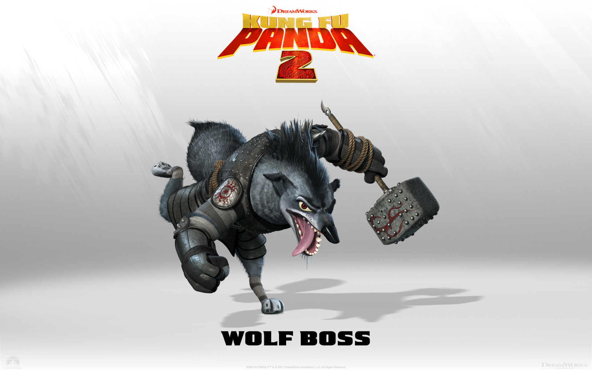 1920x1200 Wolf Boss from Kung Fu Panda 2 Movie wallpaper - Click picture for high  resolution HD wallpaper
