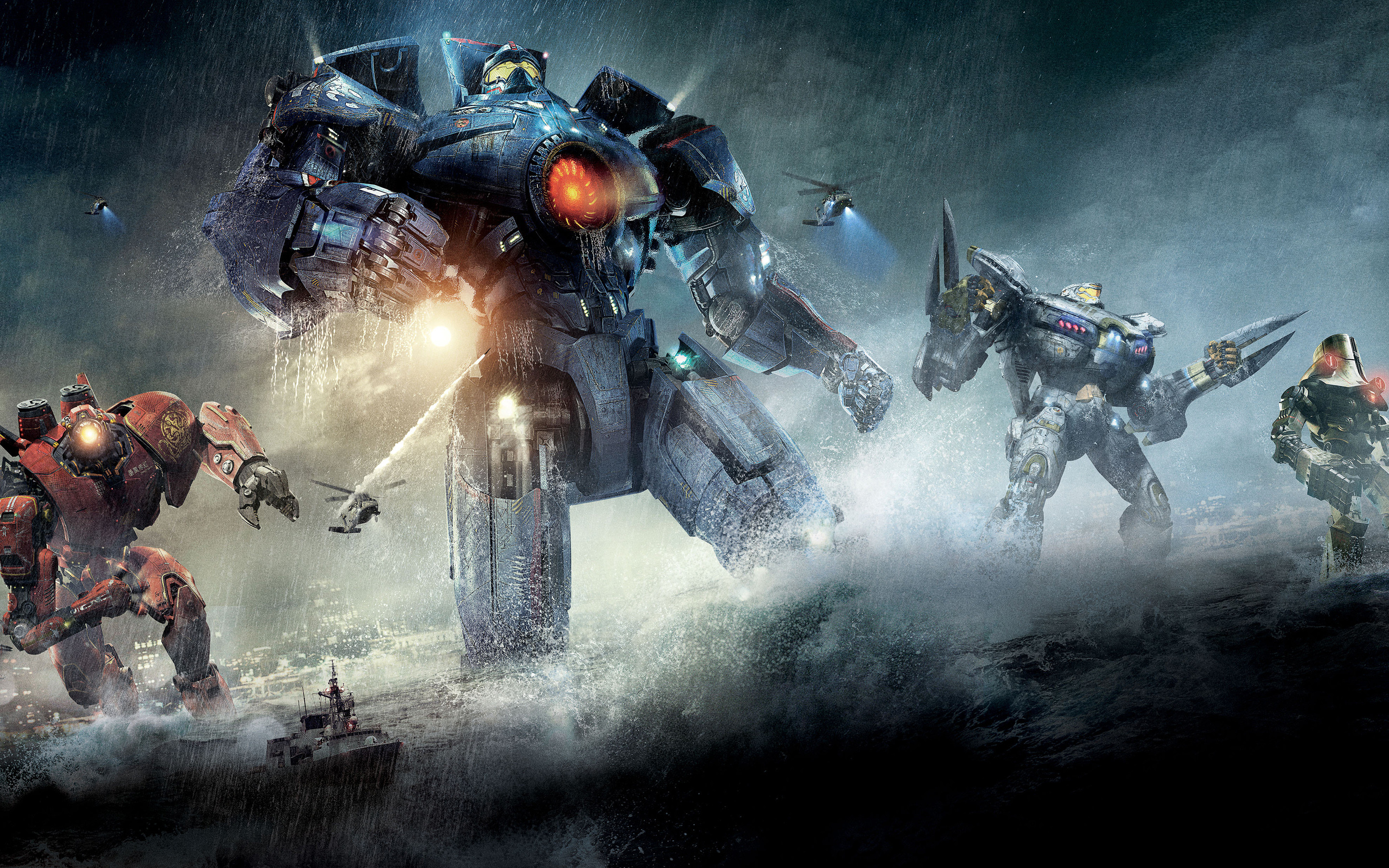 2880x1800 Coyote Tango in Pacific Rim Wallpapers | HD Wallpapers ...