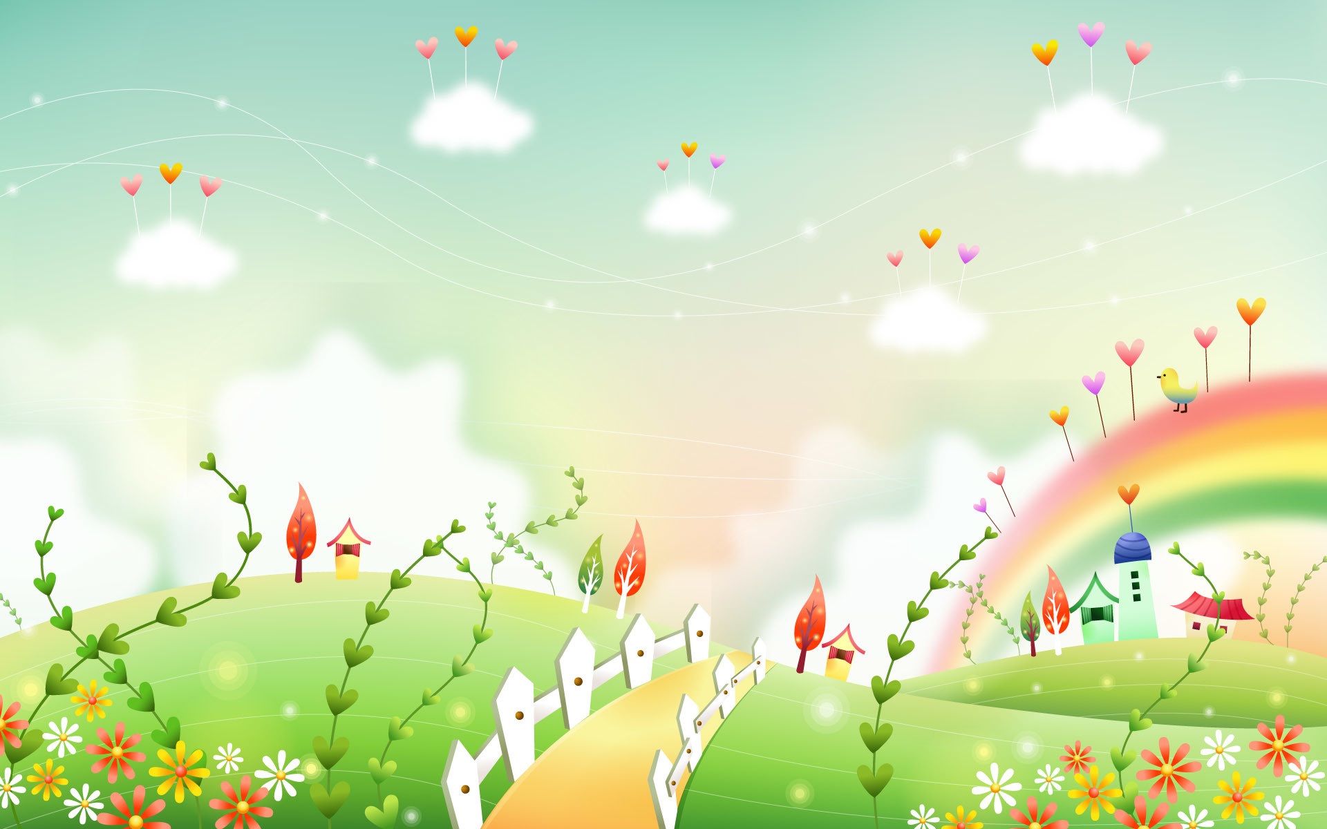 1920x1200 pin Ground clipart cute background #2