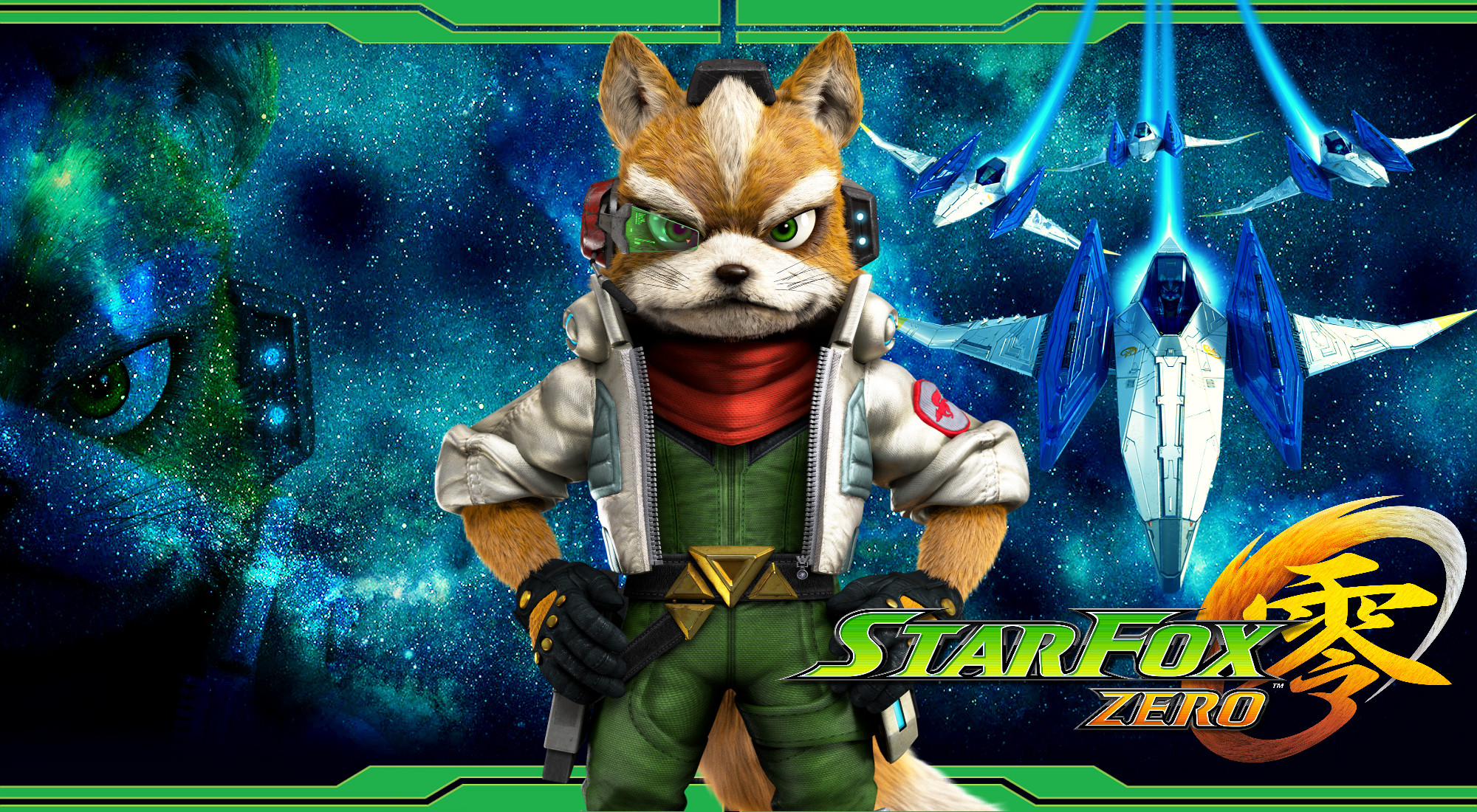 2000x1100 ... Star Fox Zero - Fox Wallpaper by DaKidGaming
