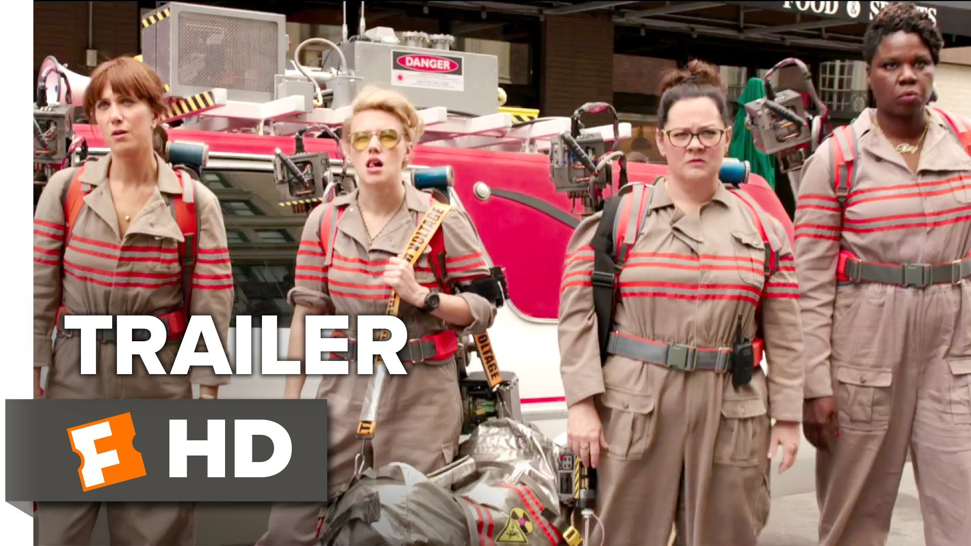 1920x1080 Ghostbusters Official Trailer #1 (2016) - Kristen Wiig, Melissa McCarthy  Movie HD - YouTube