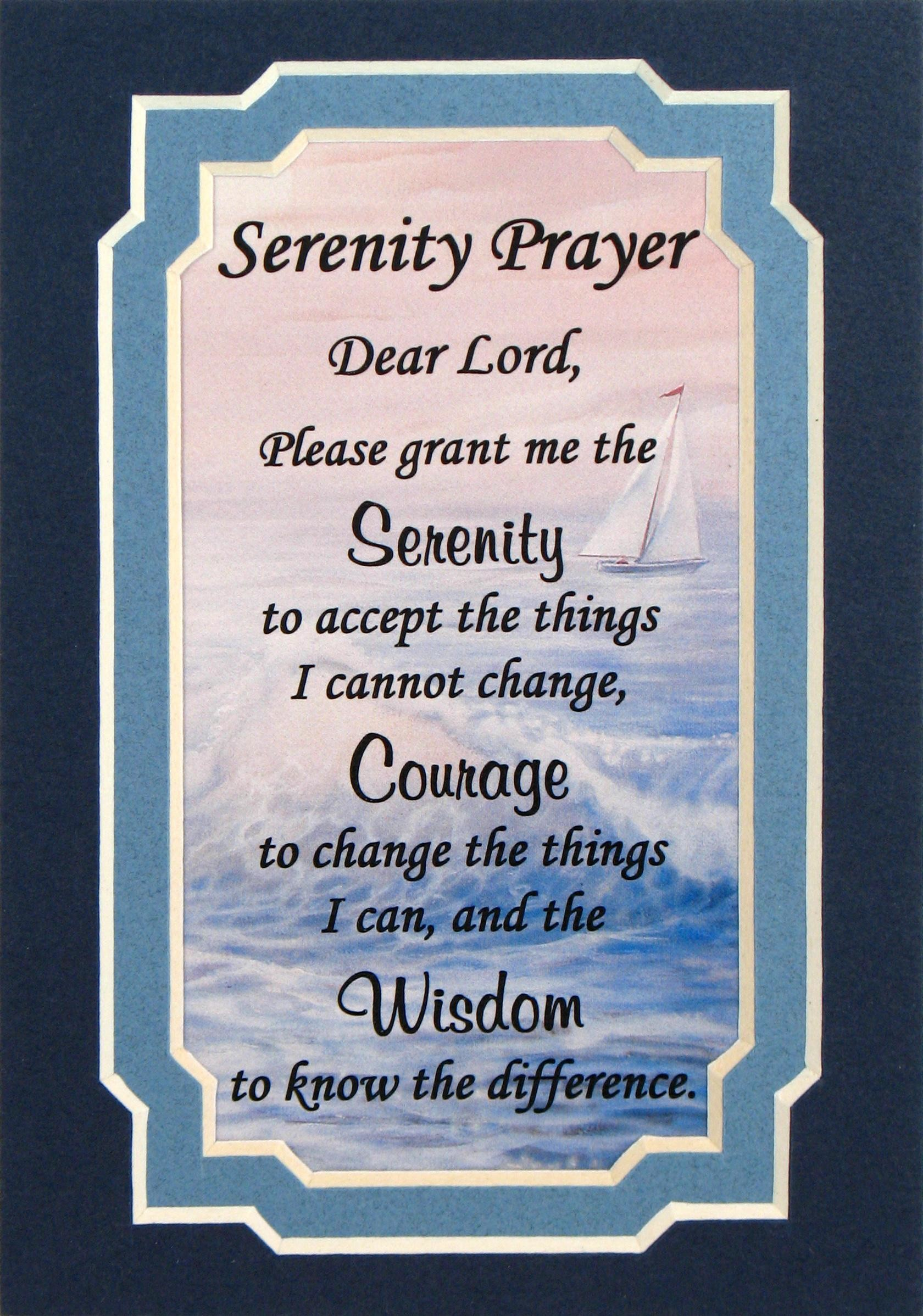 Serenity Prayer Iphone Wallpaper 69 Images