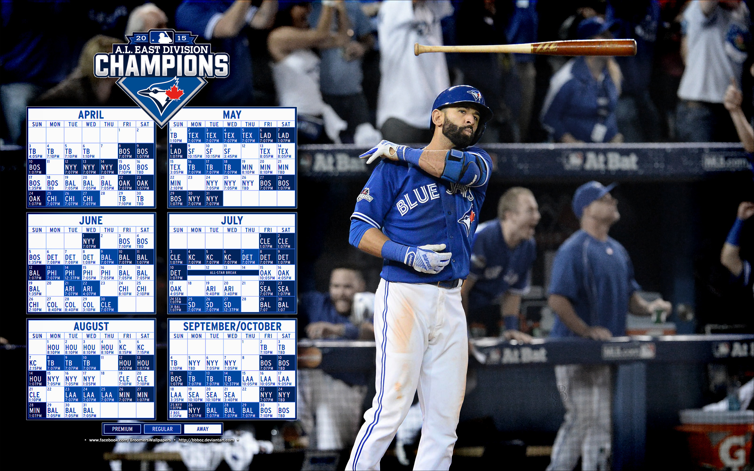 2560x1600 ... Jose Bautista 2016 Wallpapers - Wallpaper Cave ...