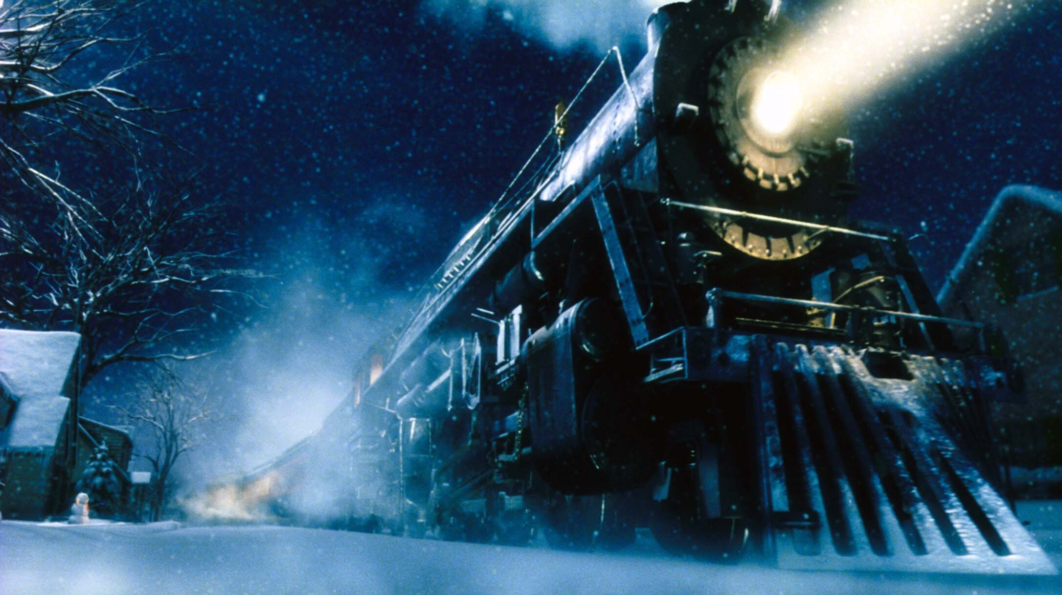Polar express movie poster