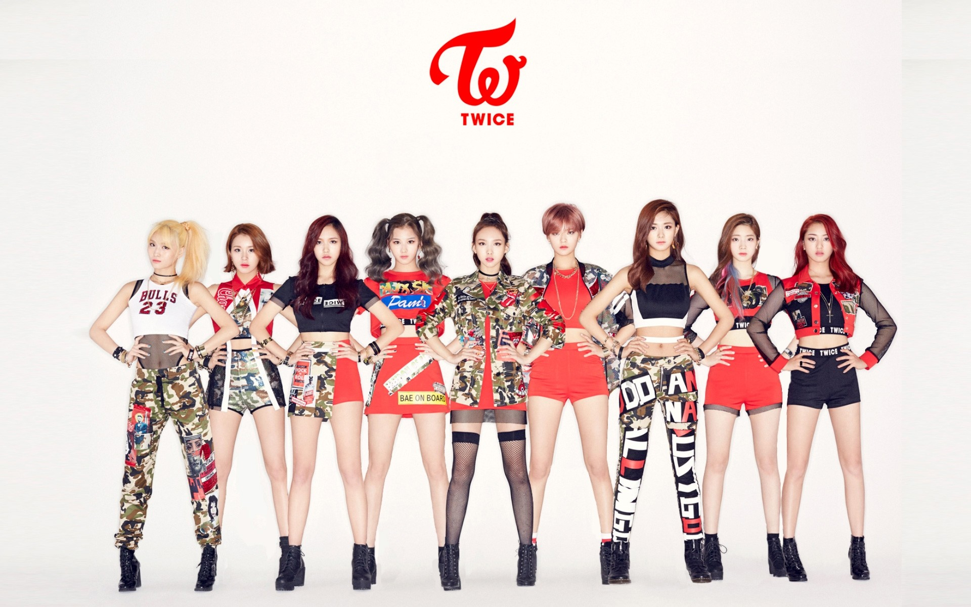 1920x1200 TWICE 1 Really love their debut and Like Ooh-Ahh. I saw someone posted  their Cheer Up Promotion image in this thread, gonna steal that hehe