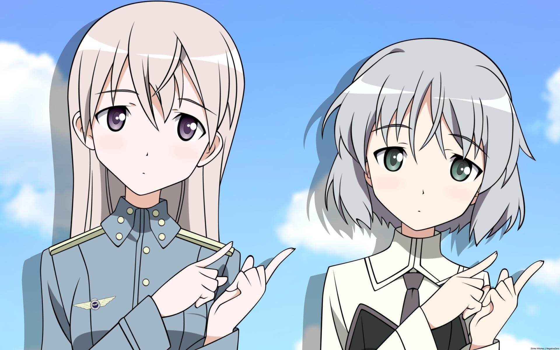 1920x1200 Strike Witches Sanya 232795