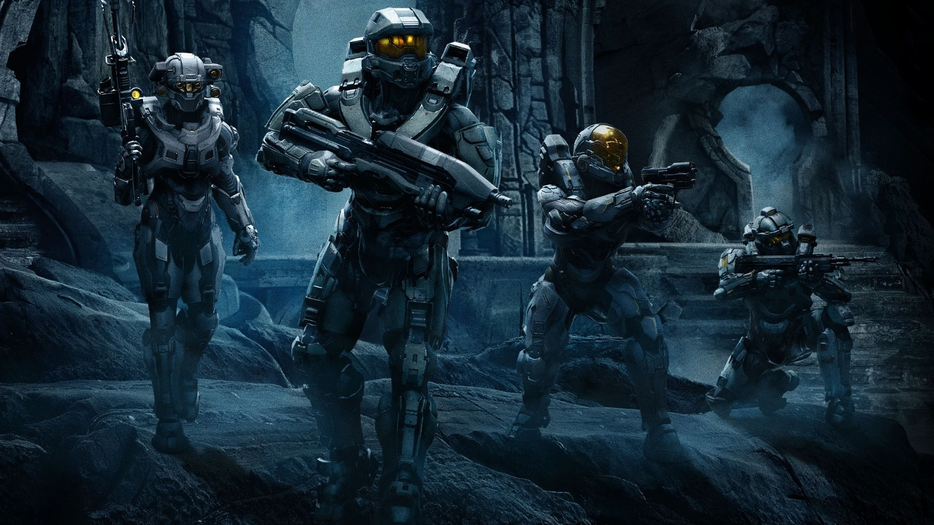 1920x1080 The 3rd wallpaper is with Halo 5 Guardians Team Chief