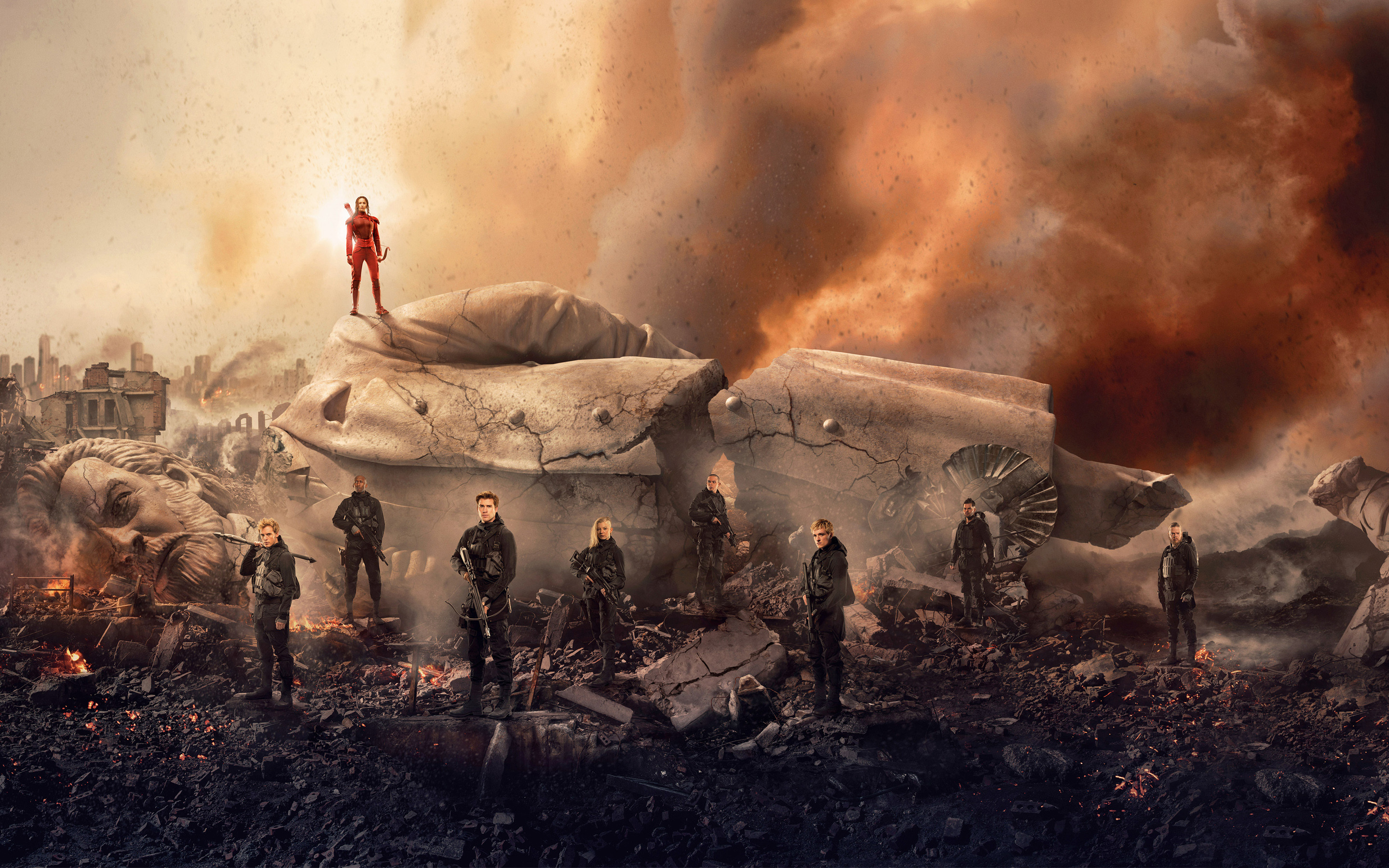 2880x1800 The Hunger Games Mockingjay Part 2 2015