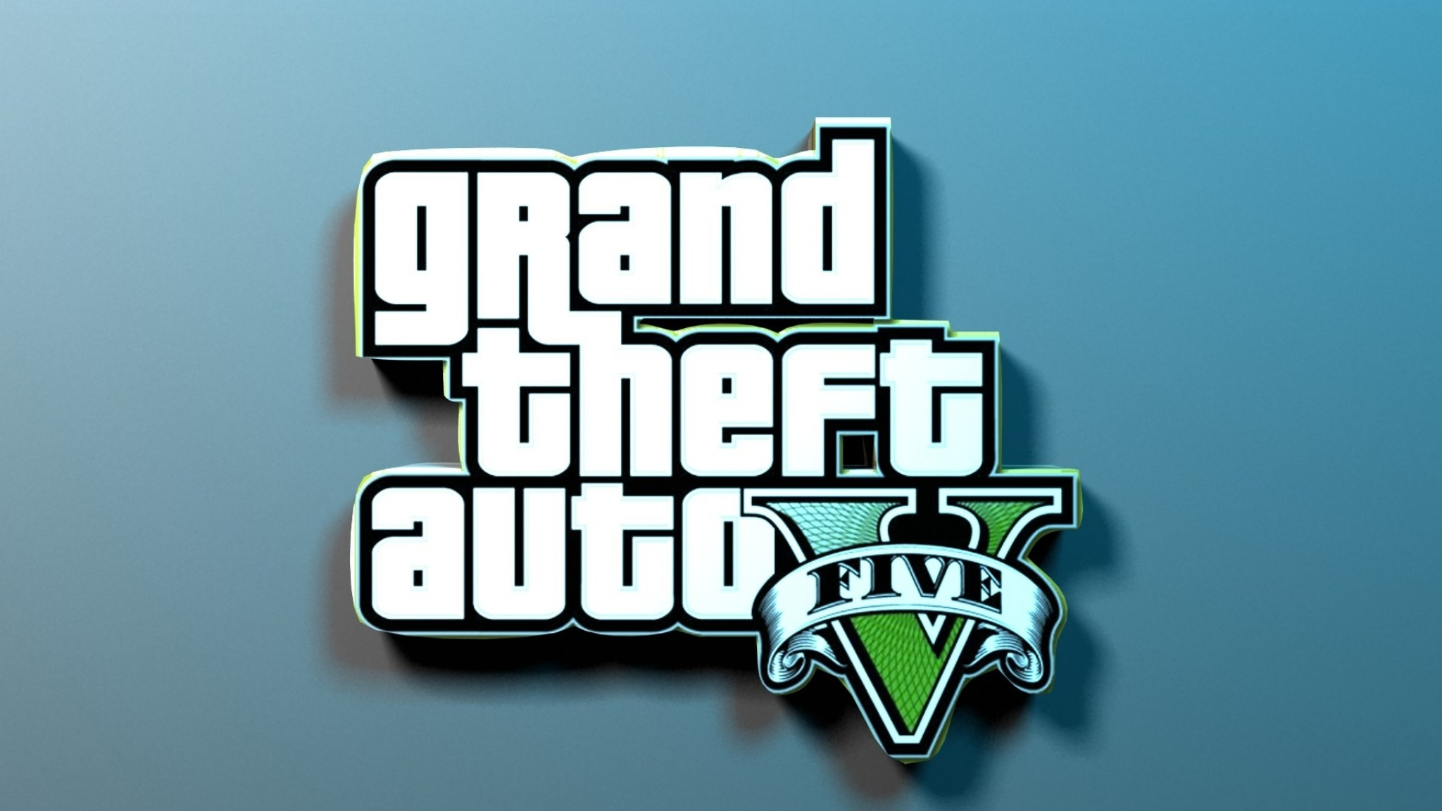 2048x1152 Preview wallpaper gta, grand theft auto 5, game, shadow, name