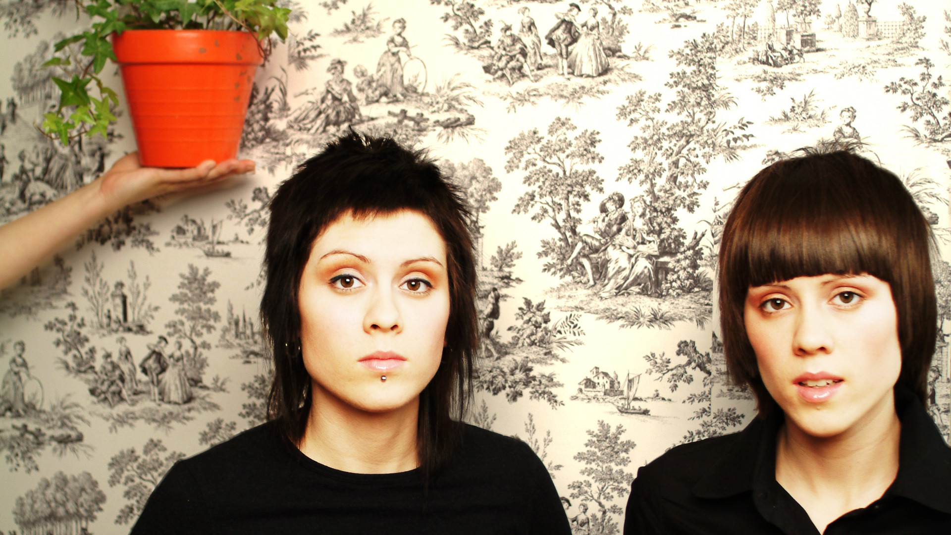 1920x1080 Tegan and Sara backdrop wallpaper