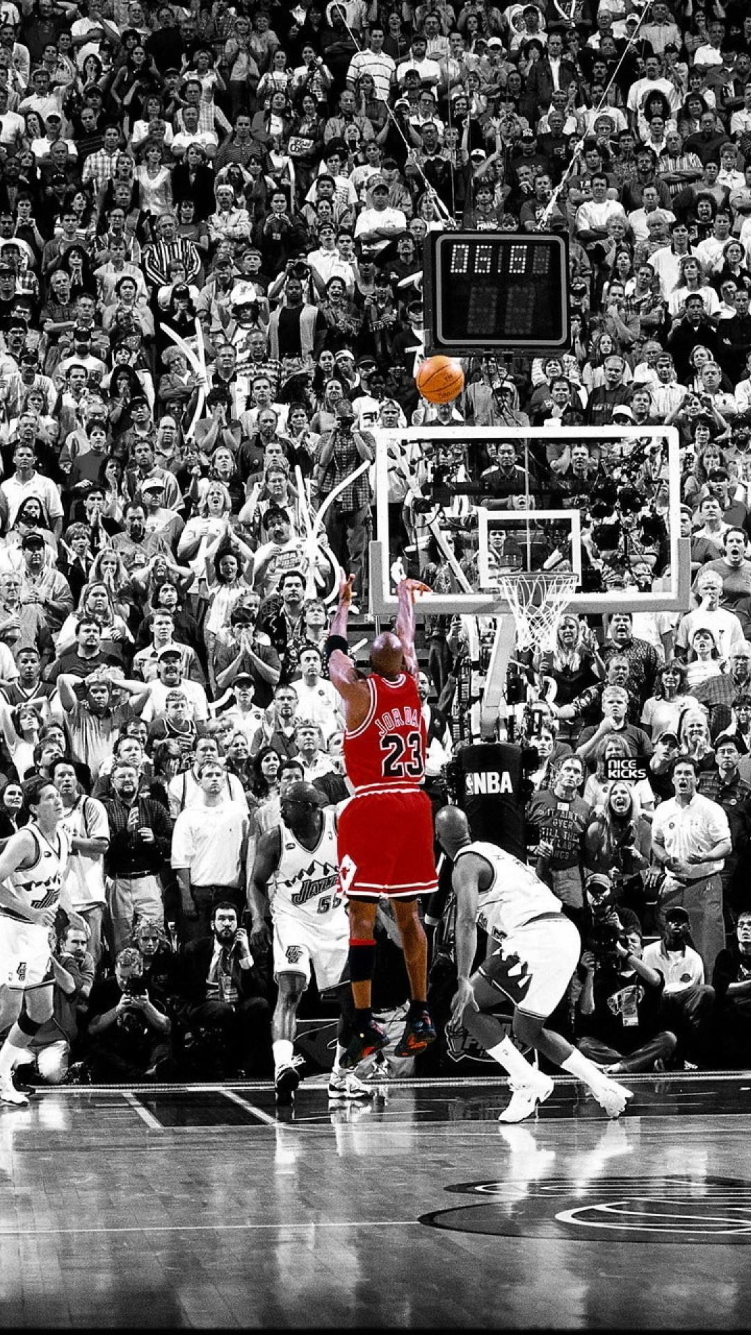 1080x1920 Michael Jordan Wallpapersafari Chicago Bulls Desktop Wallpaper