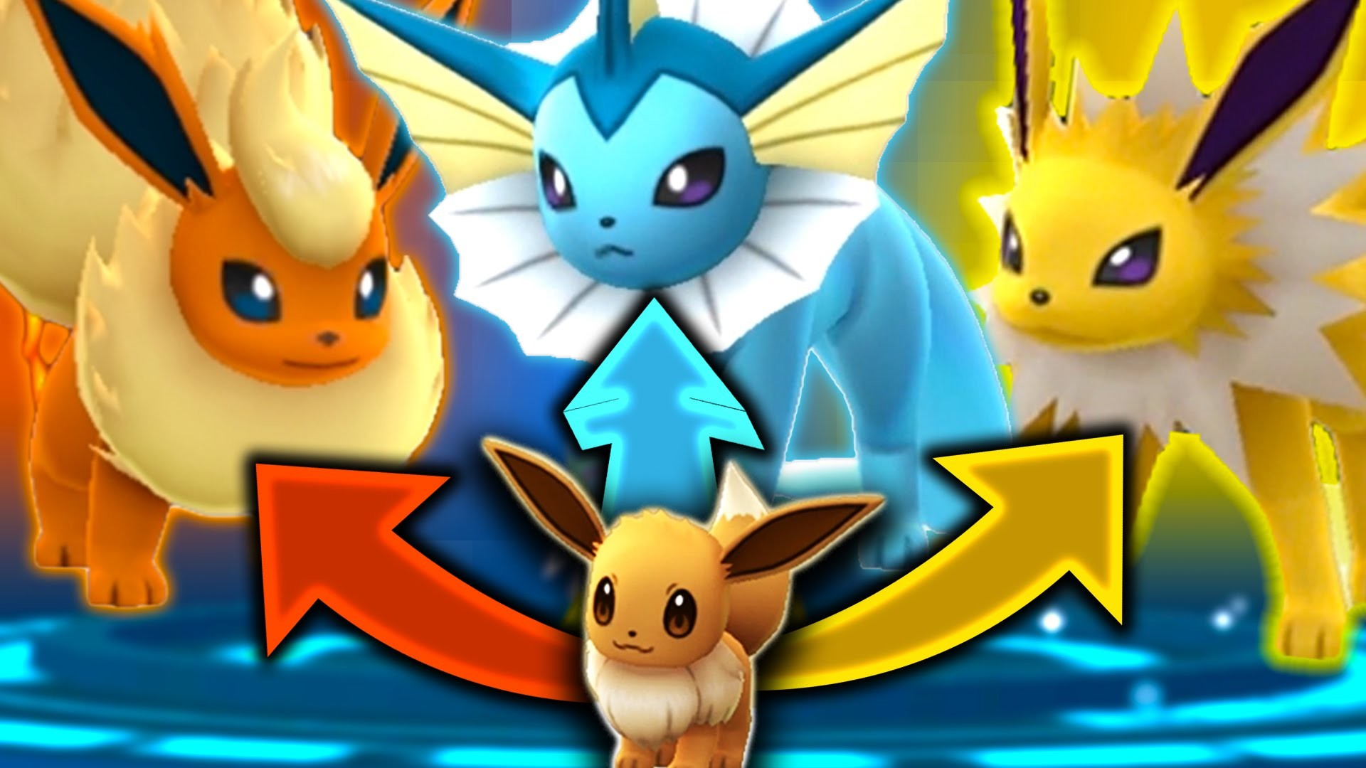 1920x1080 Pokemon GO - SECRET EEVEE EVOLUTION TRICK! (GET ALL 3 EEVEELUTIONS) -  YouTube